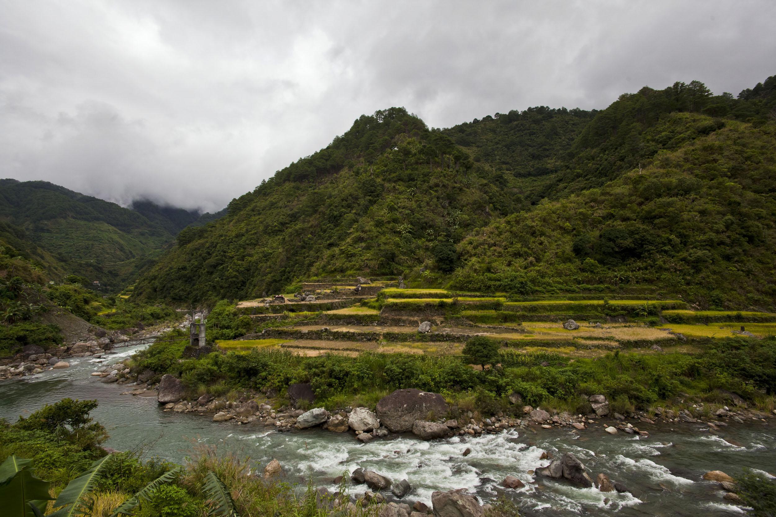Panoramic views along the Kabayan Rd Halsema Highway from Baguio to Sagada Aug 2011 08