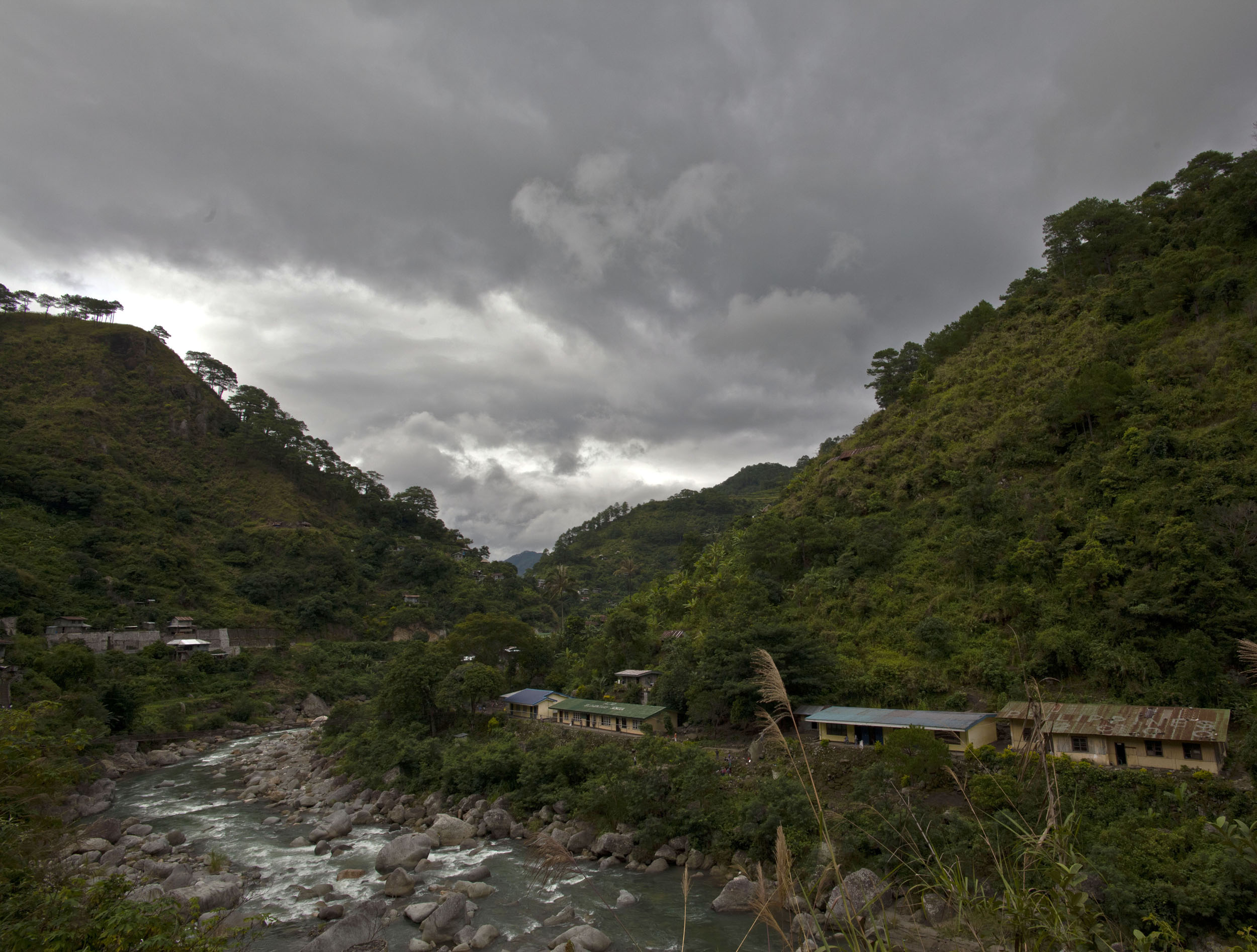 Panoramic views along the Kabayan Rd Halsema Highway from Baguio to Sagada Aug 2011 11
