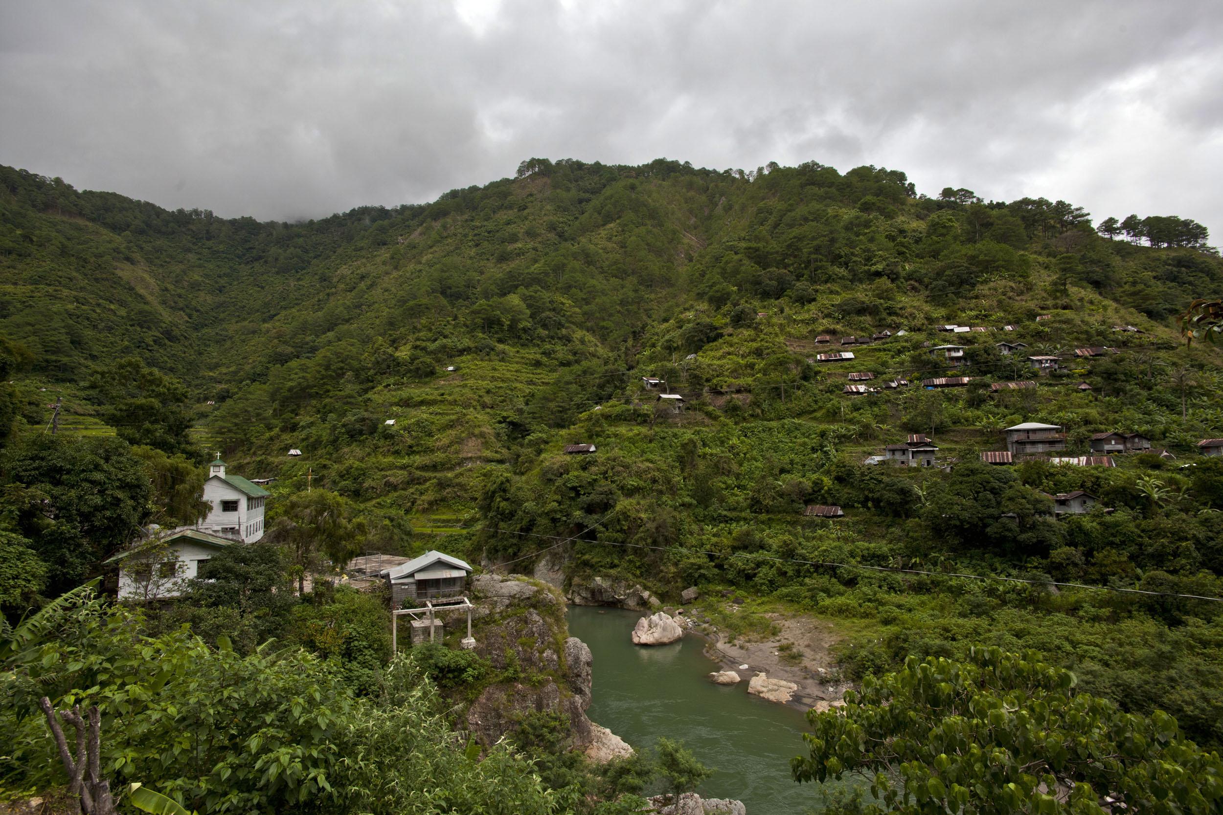Panoramic views along the Kabayan Rd Halsema Highway from Baguio to Sagada Aug 2011 14
