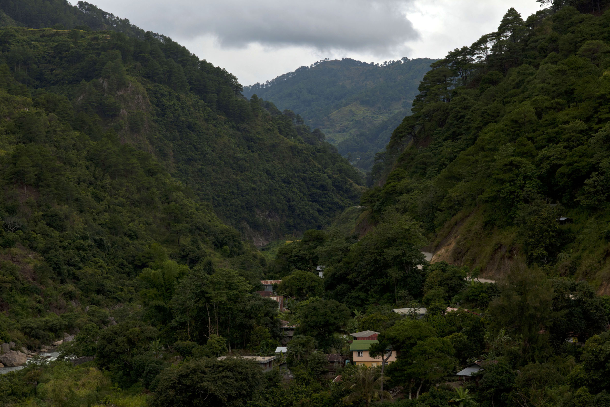 Panoramic views along the Kabayan Rd Halsema Highway from Baguio to Sagada Aug 2011 16