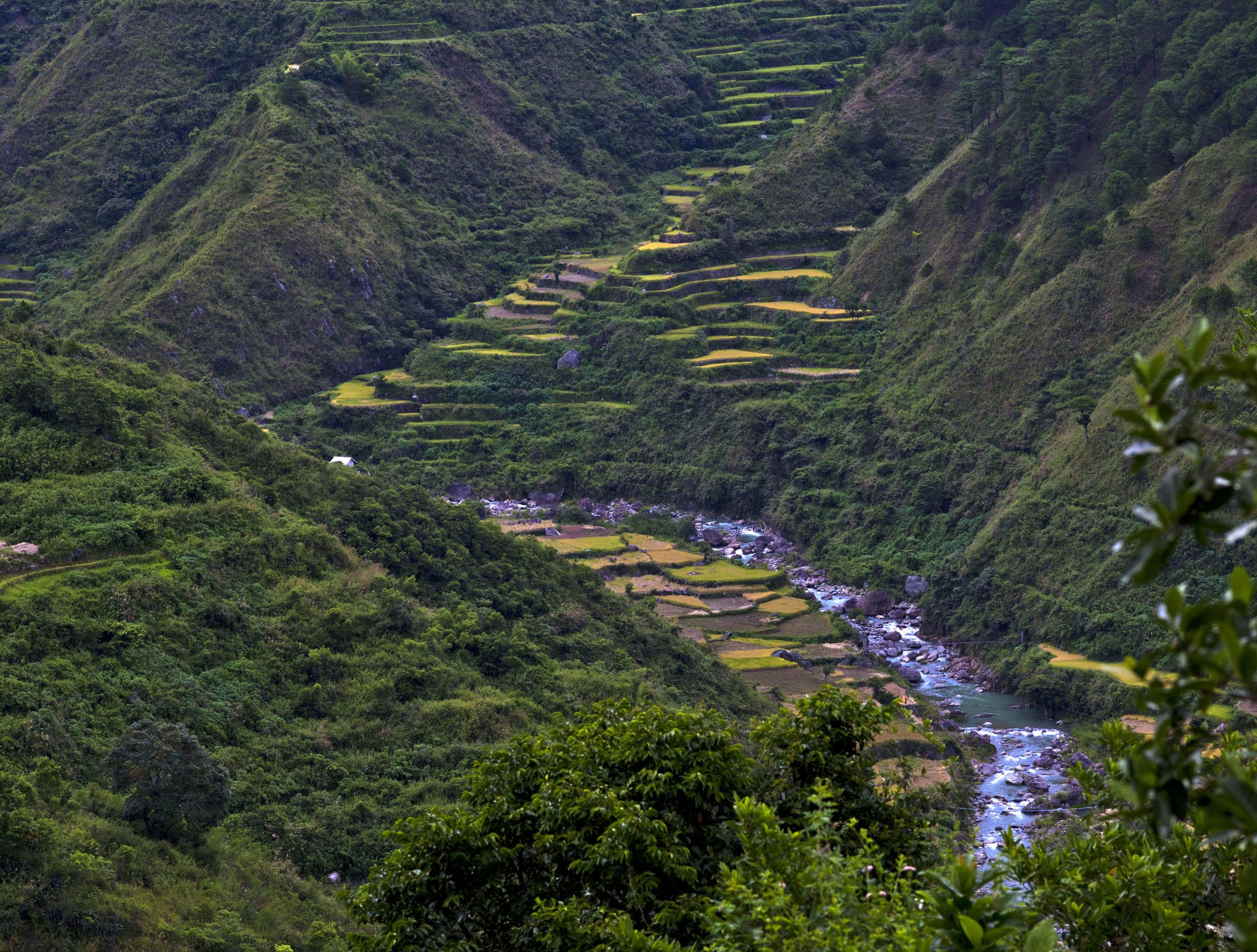 Panoramic views along the Kabayan Rd Halsema Highway from Baguio to Sagada Aug 2011 21