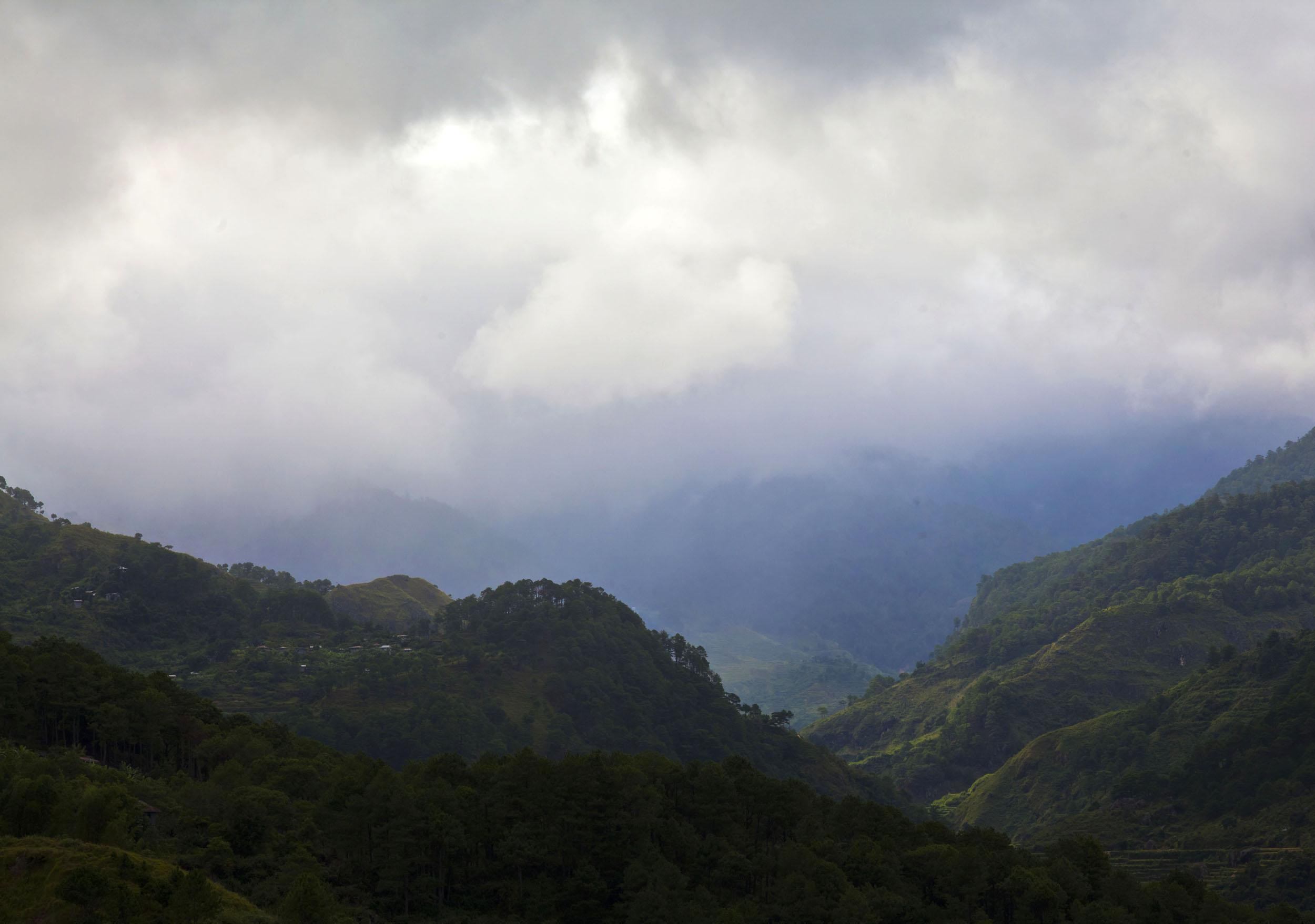 Panoramic views along the Kabayan Rd Halsema Highway from Baguio to Sagada Aug 2011 22