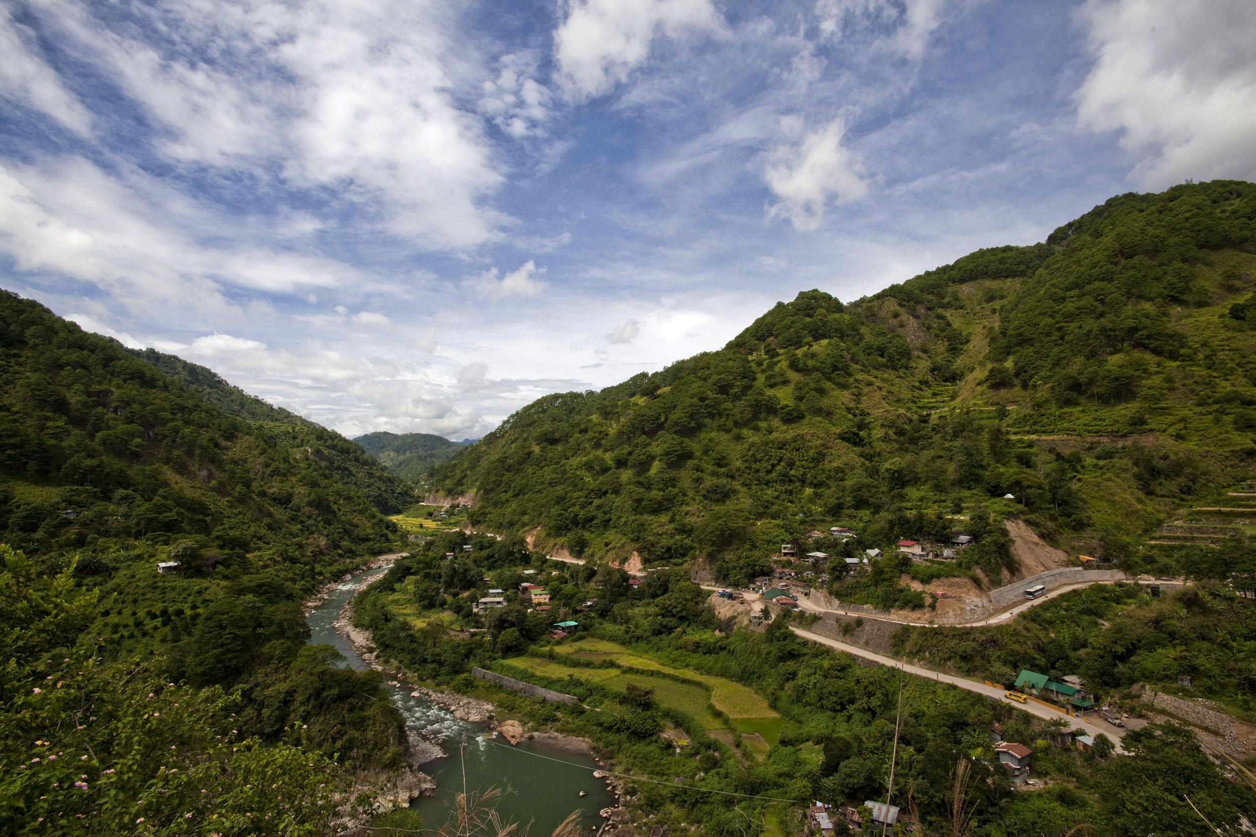 Panoramic views along the Kabayan Rd Halsema Highway from Baguio to Sagada Aug 2011 23