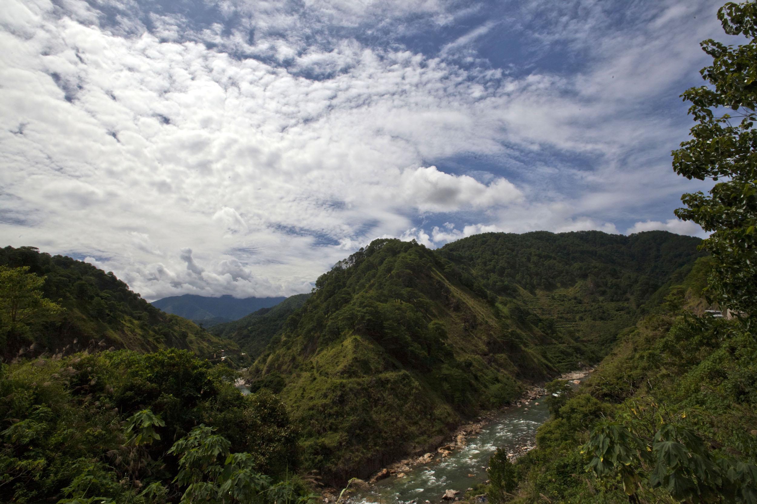 Panoramic views along the Kabayan Rd Halsema Highway from Baguio to Sagada Aug 2011 25