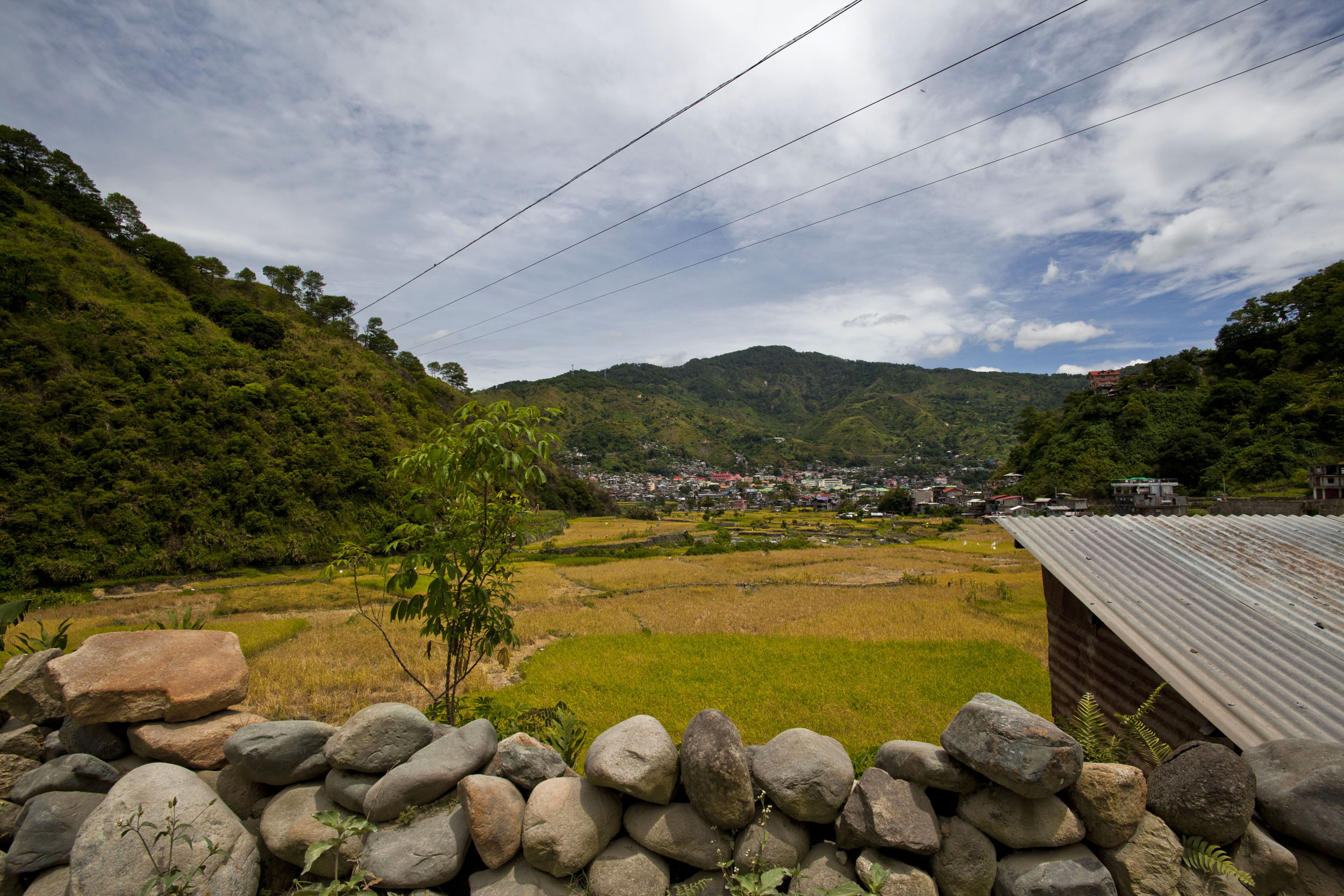 Panoramic views along the Kabayan Rd Halsema Highway from Baguio to Sagada Aug 2011 33