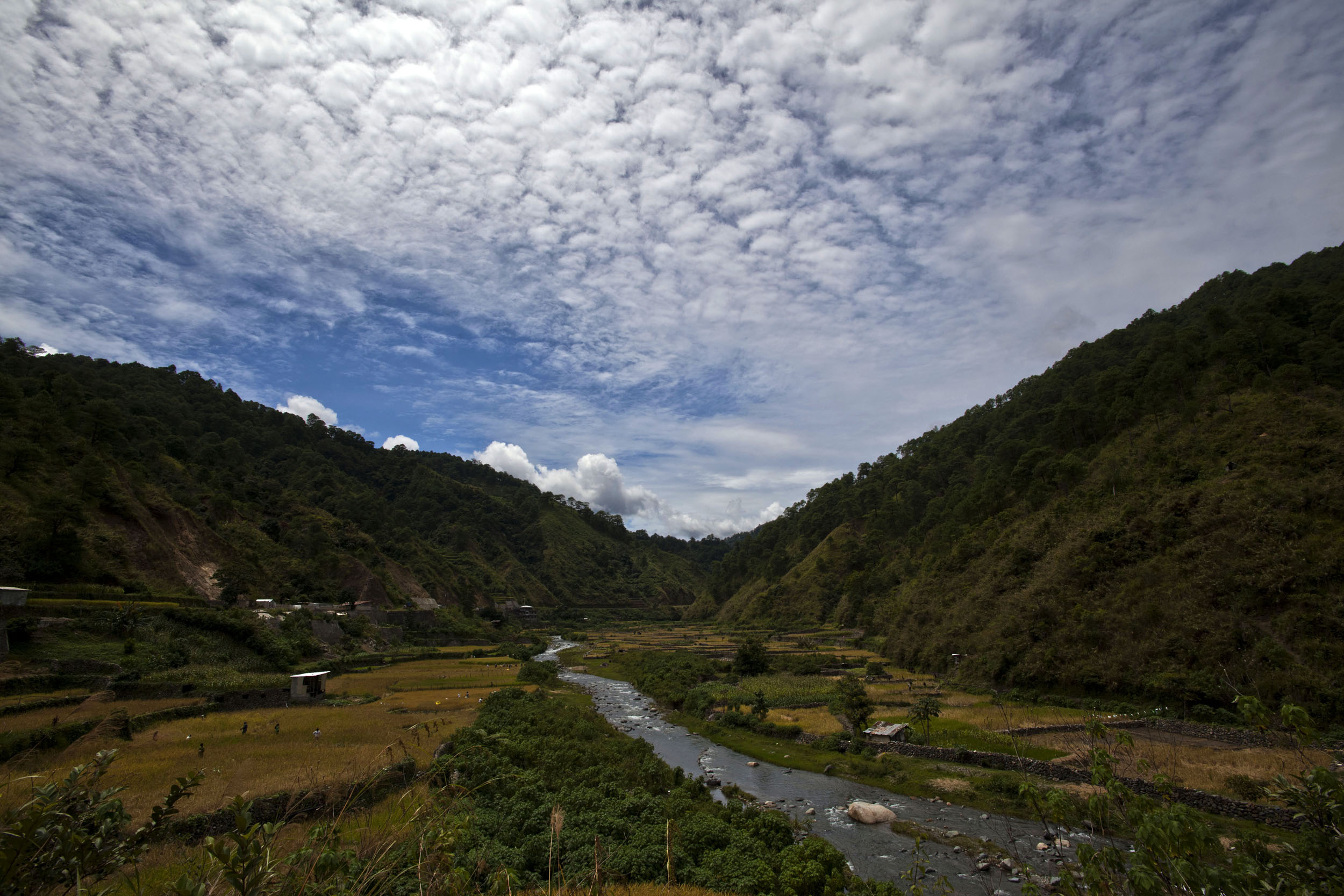 Panoramic views along the Kabayan Rd Halsema Highway from Baguio to Sagada Aug 2011 35