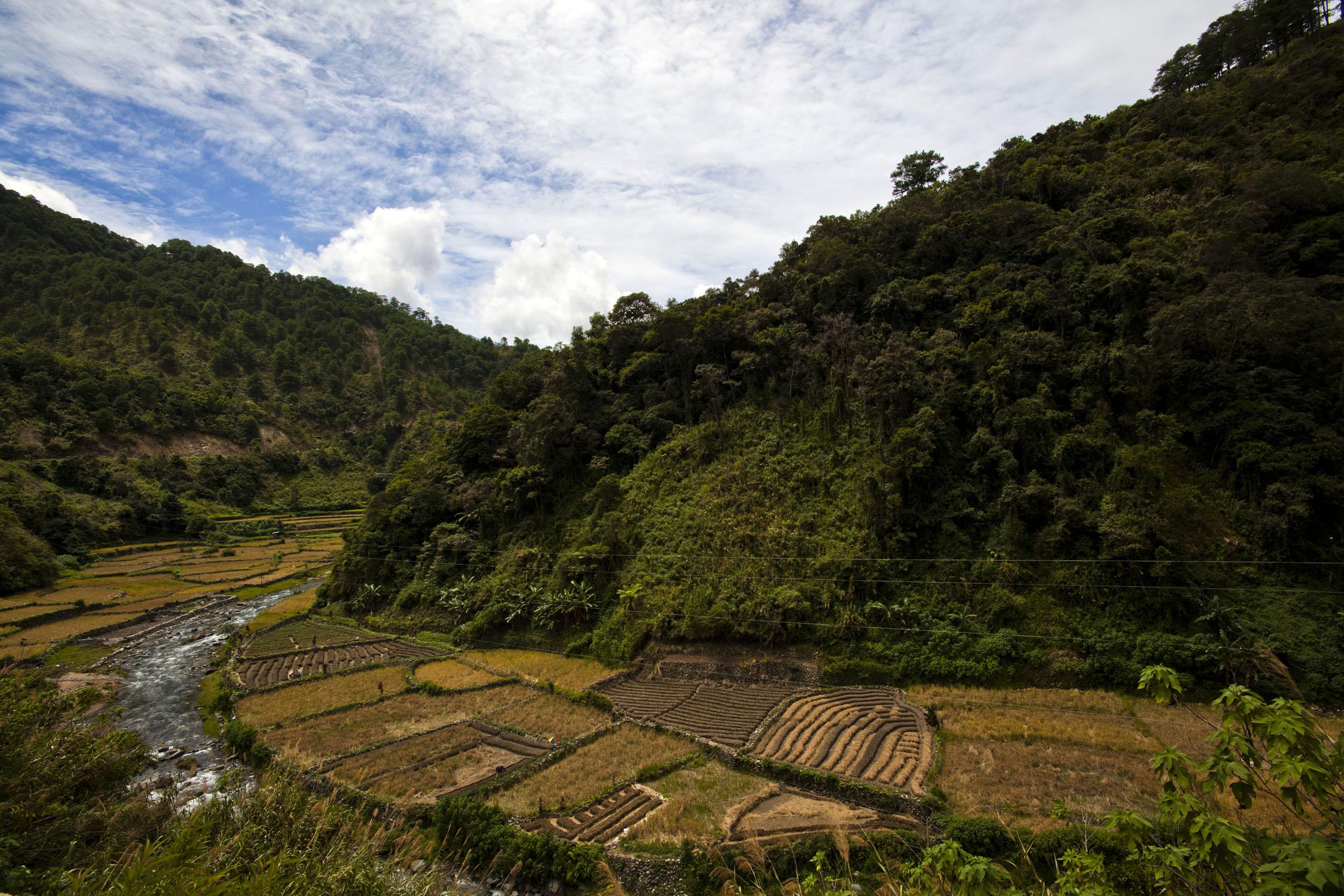 Panoramic views along the Kabayan Rd Halsema Highway from Baguio to Sagada Aug 2011 36