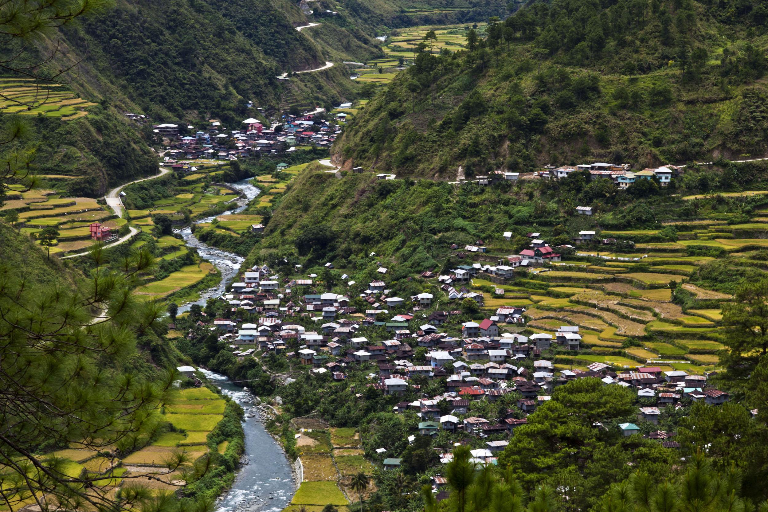 Panoramic views along the Kabayan Rd Halsema Highway from Baguio to Sagada Aug 2011 44