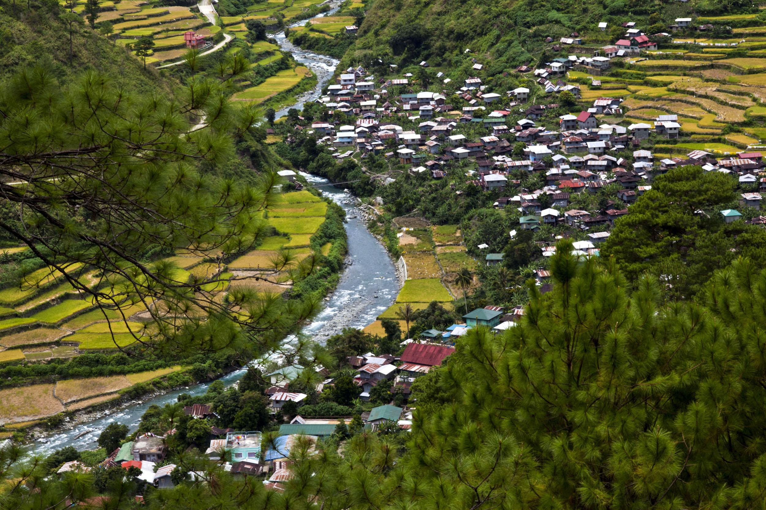 Panoramic views along the Kabayan Rd Halsema Highway from Baguio to Sagada Aug 2011 45