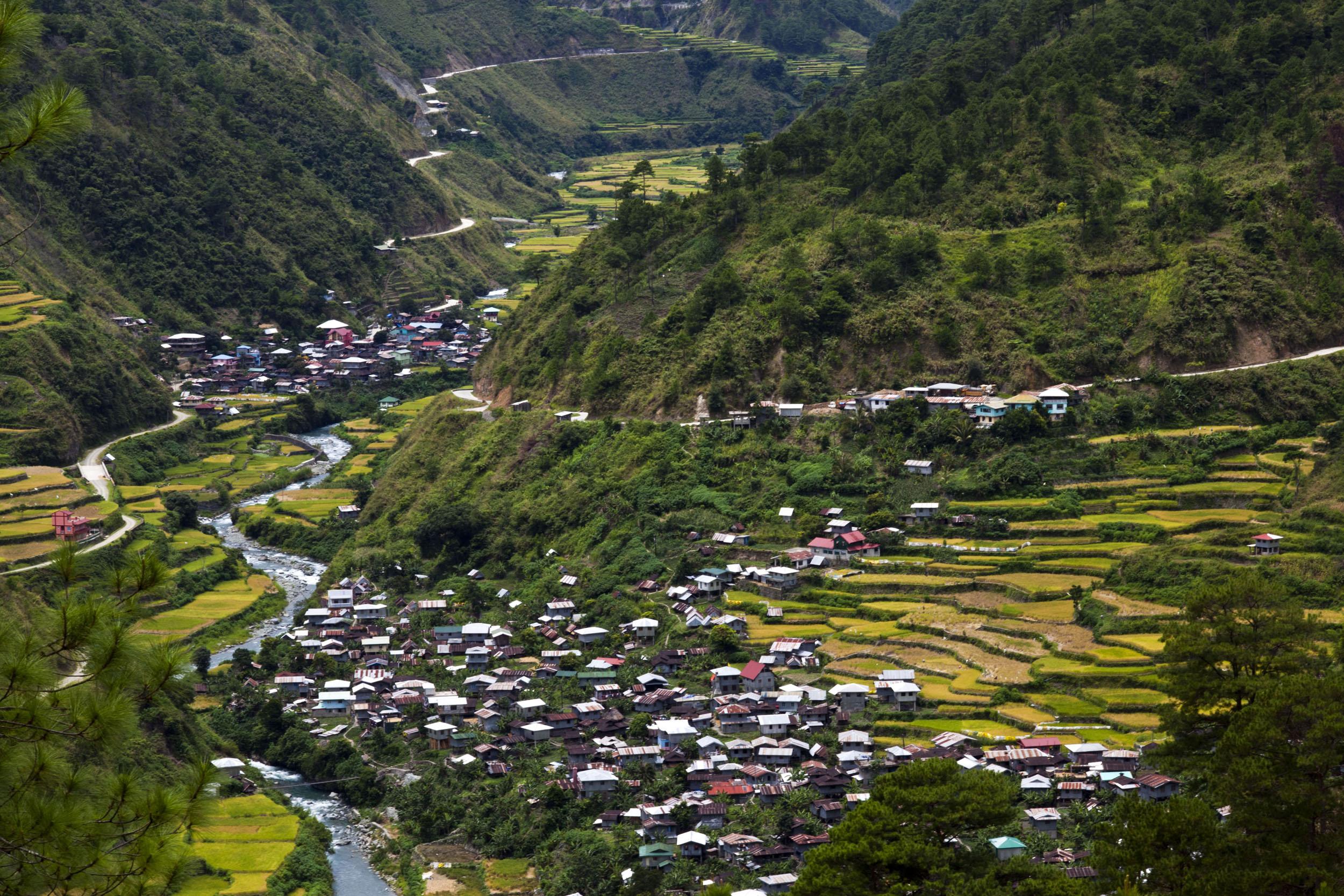 Panoramic views along the Kabayan Rd Halsema Highway from Baguio to Sagada Aug 2011 46