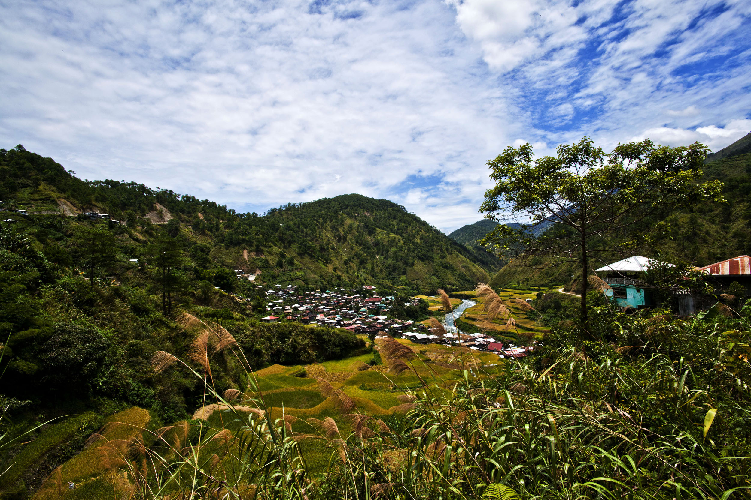 Panoramic views along the Kabayan Rd Halsema Highway from Baguio to Sagada Aug 2011 50