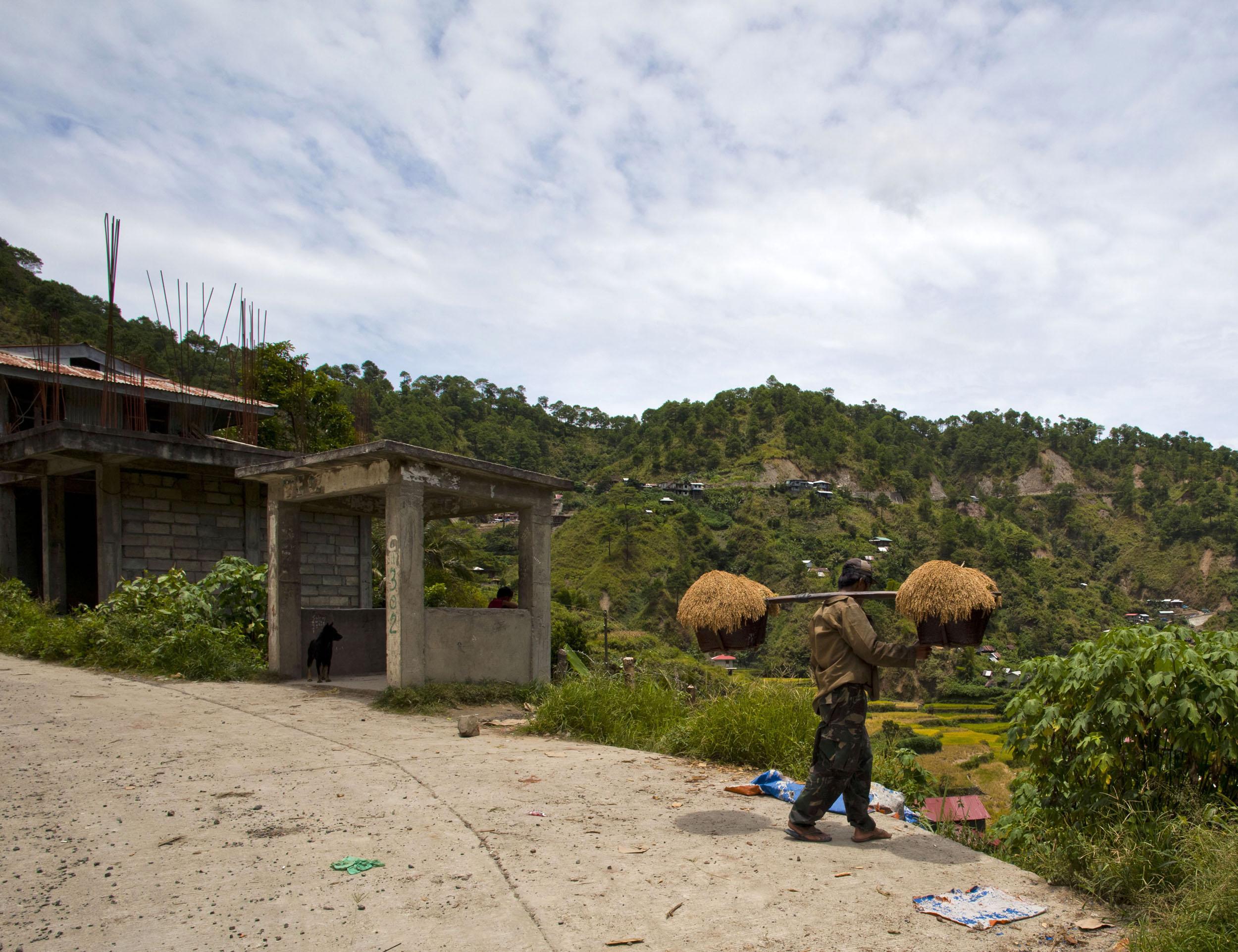 Panoramic views along the Kabayan Rd Halsema Highway from Baguio to Sagada Aug 2011 52