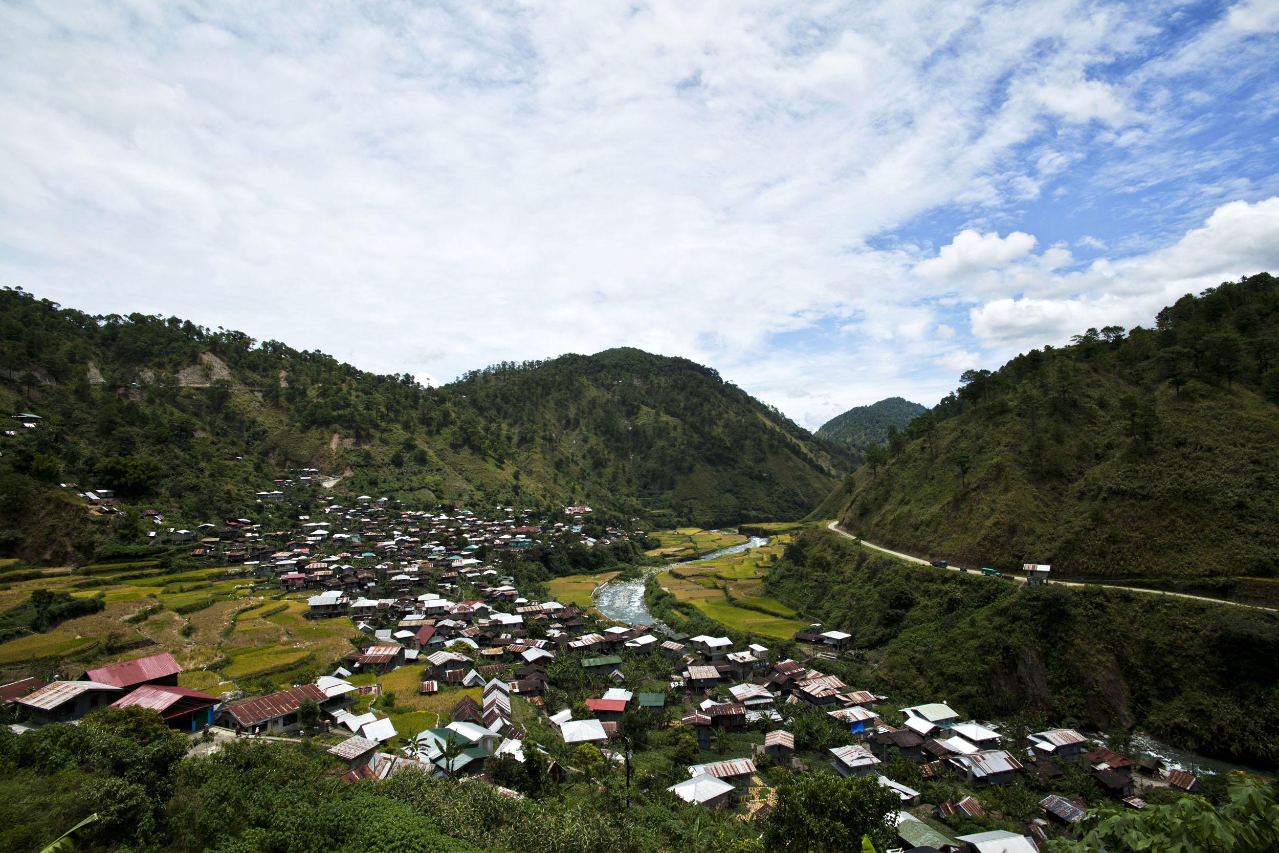 Panoramic views along the Kabayan Rd Halsema Highway from Baguio to Sagada Aug 2011 53