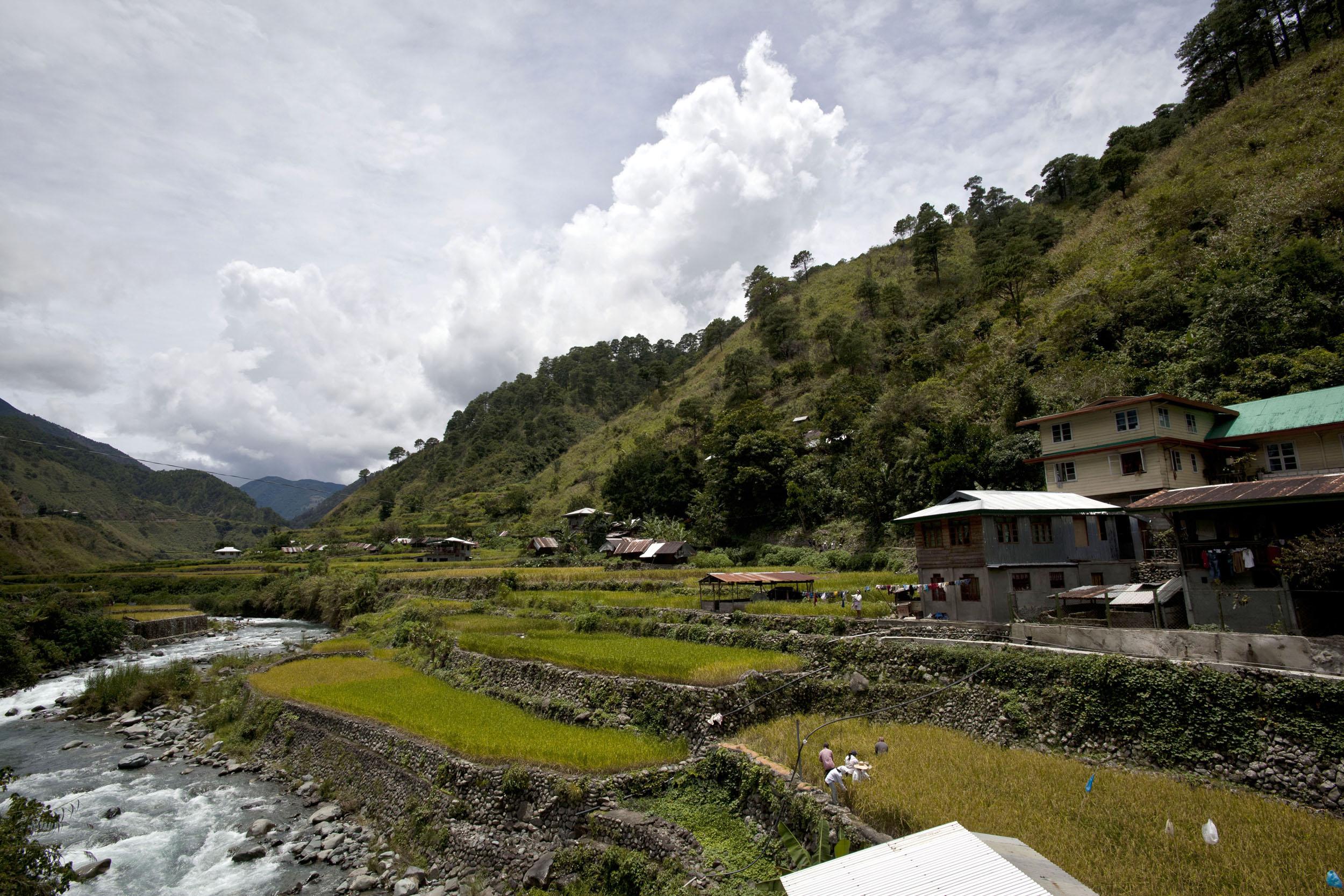 Panoramic views along the Kabayan Rd Halsema Highway from Baguio to Sagada Aug 2011 57