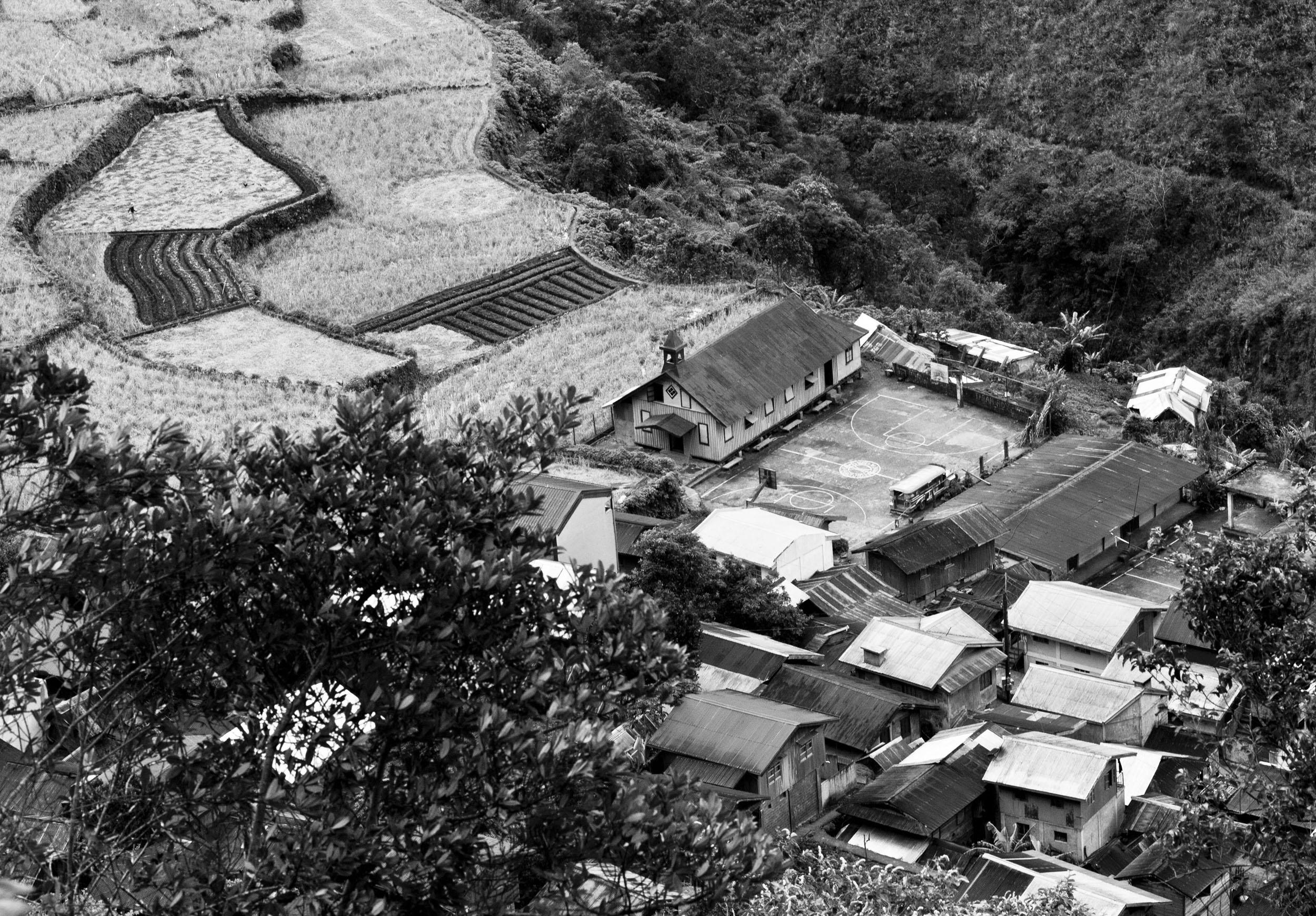Panoramic views along the Kabayan Rd Halsema Highway from Baguio to Sagada Aug 2011 69