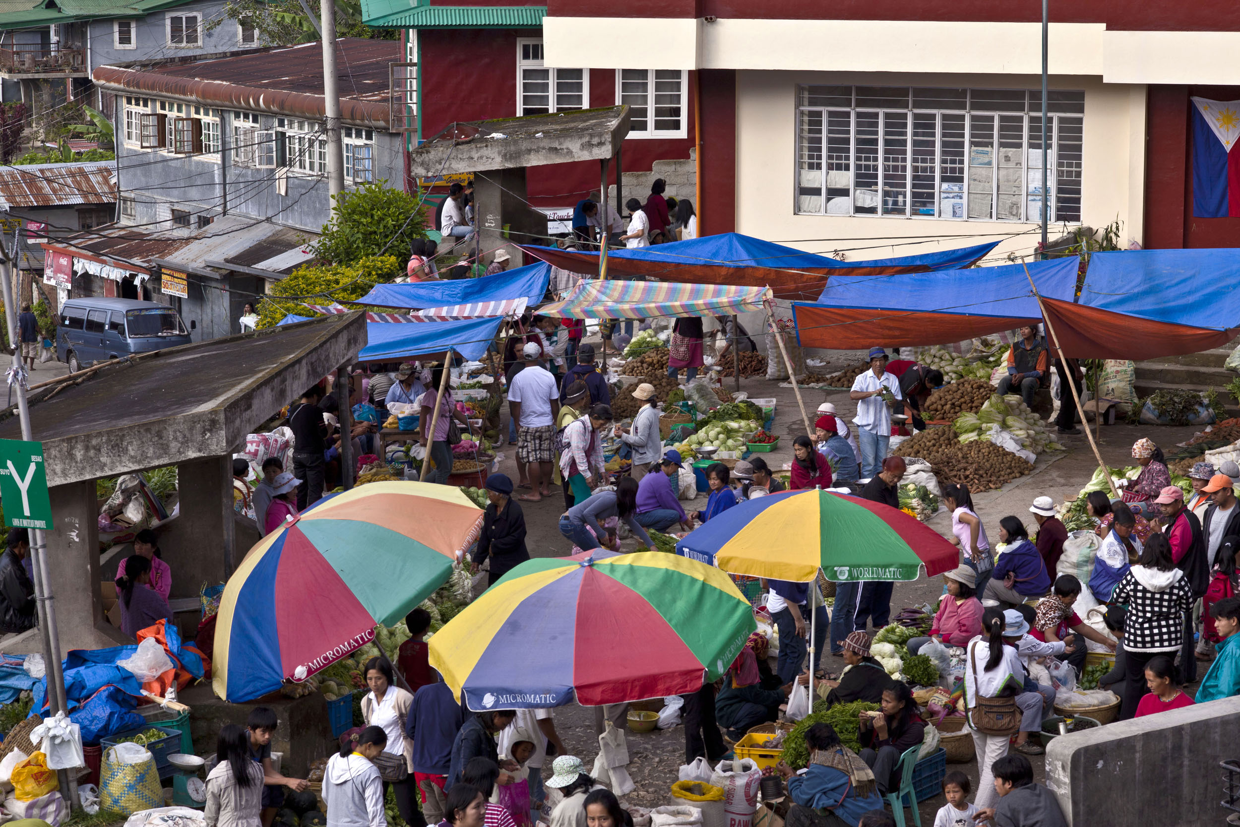 Sagada municipality local market province of Mountain Province Philippines Aug 2011 01