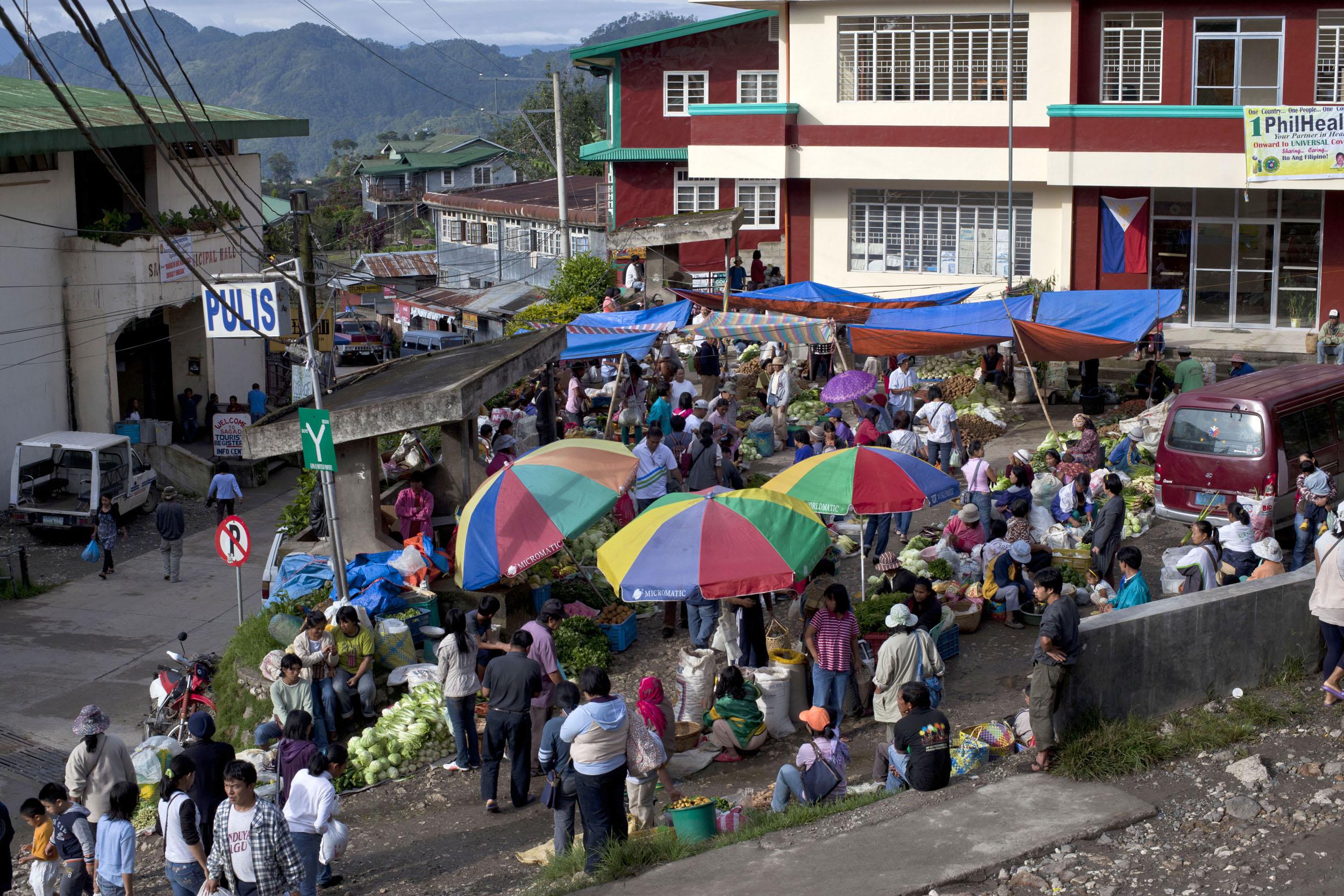 Sagada municipality local market province of Mountain Province Philippines Aug 2011 02
