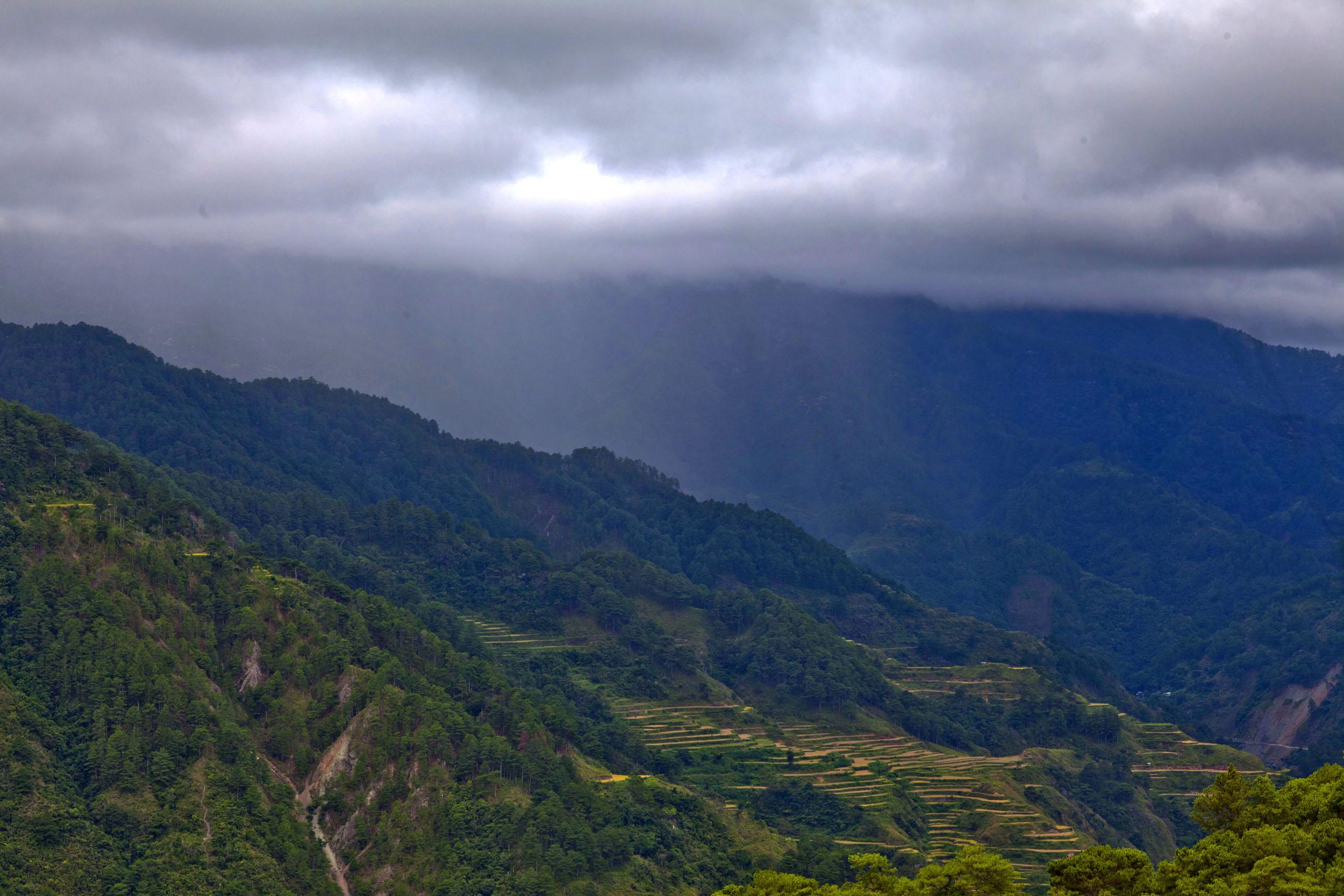 Sagada town panoramic mountain views Mountain Province northern Philippines Aug 2011 12