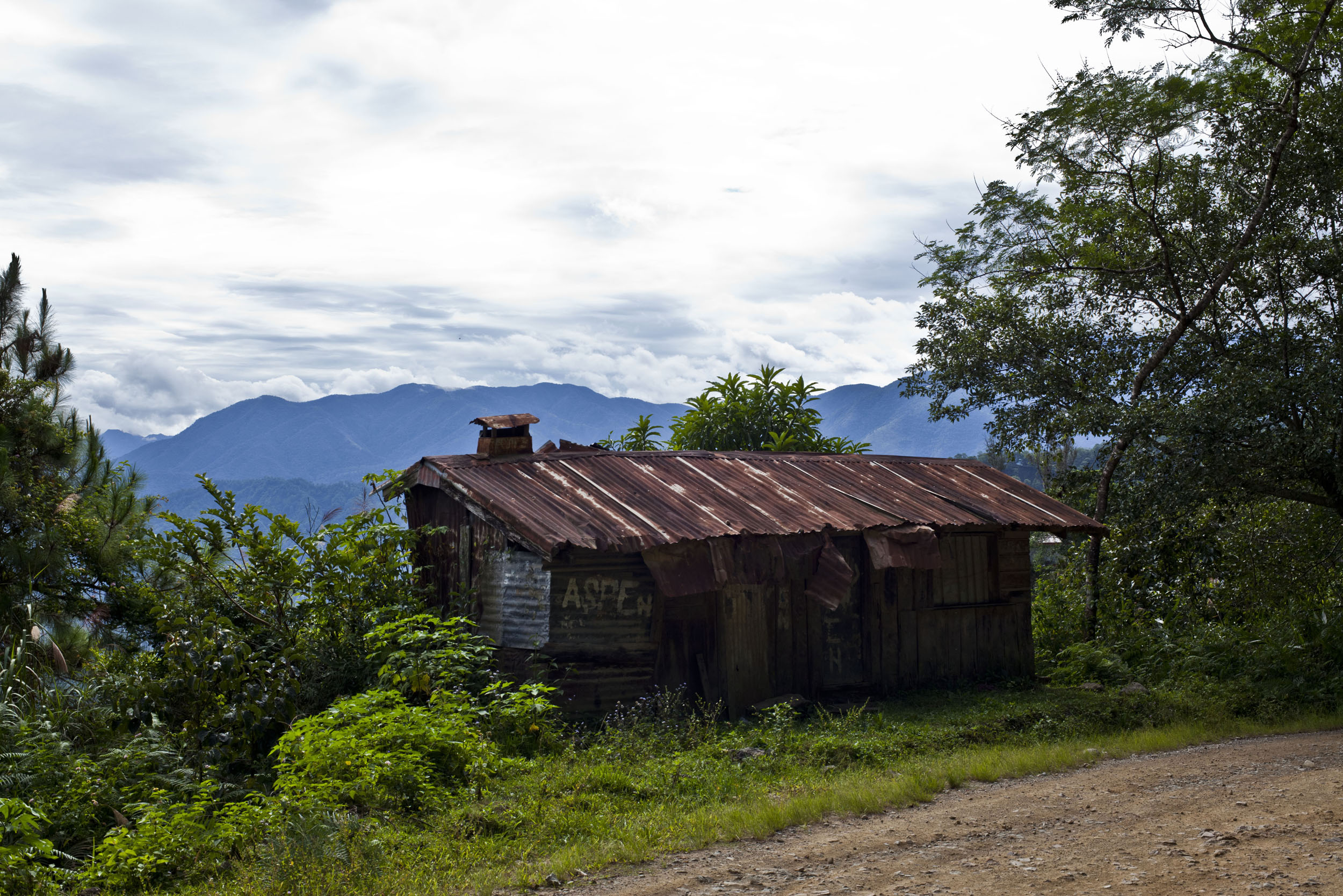 Sagada town panoramic mountain views Mountain Province northern Philippines Aug 2011 19