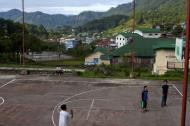 Asisbiz Sagada municipality local basketball court province of Mountain Province Philippines Aug 2011 01