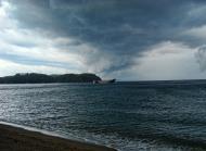 Asisbiz The lull before the storm Typhoon Chanchu ships seeking refuge Varadero Bay Philippines 04
