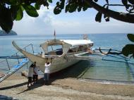 Asisbiz Leaving by private banca from Soliman Paraiso to Batangas Varadero Bay Tabinay Philippines 03