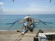 Asisbiz Leaving by private banca from Soliman Paraiso to Batangas Varadero Bay Tabinay Philippines 05