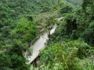 Asisbiz Local tourist hangout Tamaraw Falls Tukuran River Oriental Mindoro Philippines 04