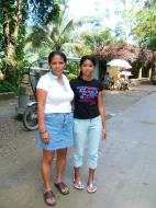Asisbiz Local tourist hangout Tamaraw Falls Tukuran River Oriental Mindoro Philippines 12