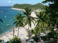 Asisbiz Over looking White Beach from a vantage point San Isidro Oriental Mindoro Philippines 2003 03