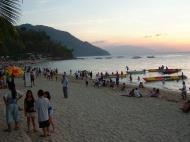 Asisbiz Twilight as the day draws to a close White Beach San Isidro Oriental Mindoro Philippines 03