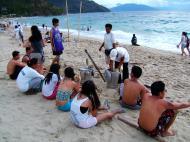 Asisbiz White Beach before it became over developed San Isidro Oriental Mindoro Philippines 2003 02