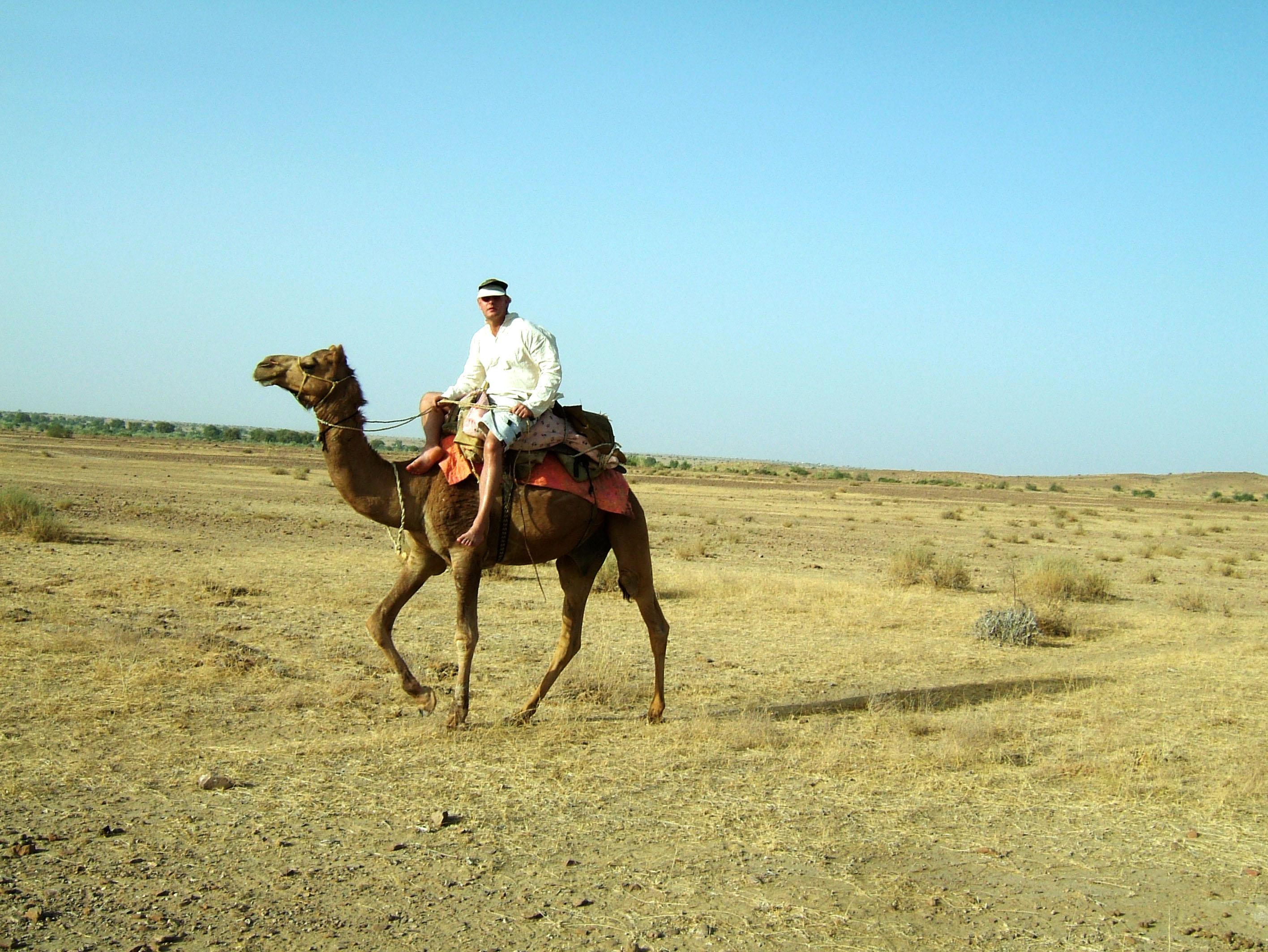 Camel Safari India Rajasthan Jaisalmer 06