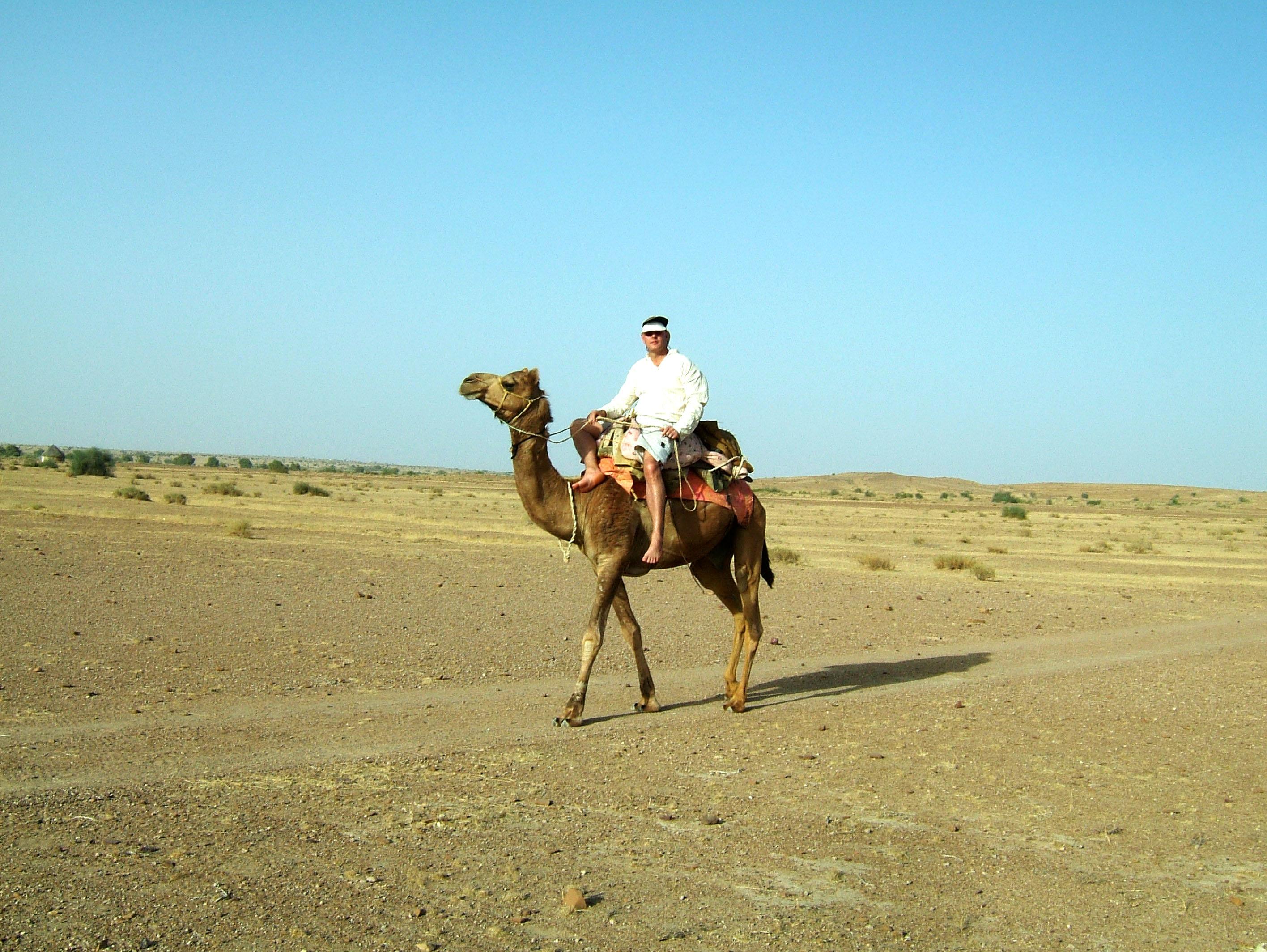 Camel Safari India Rajasthan Jaisalmer 13