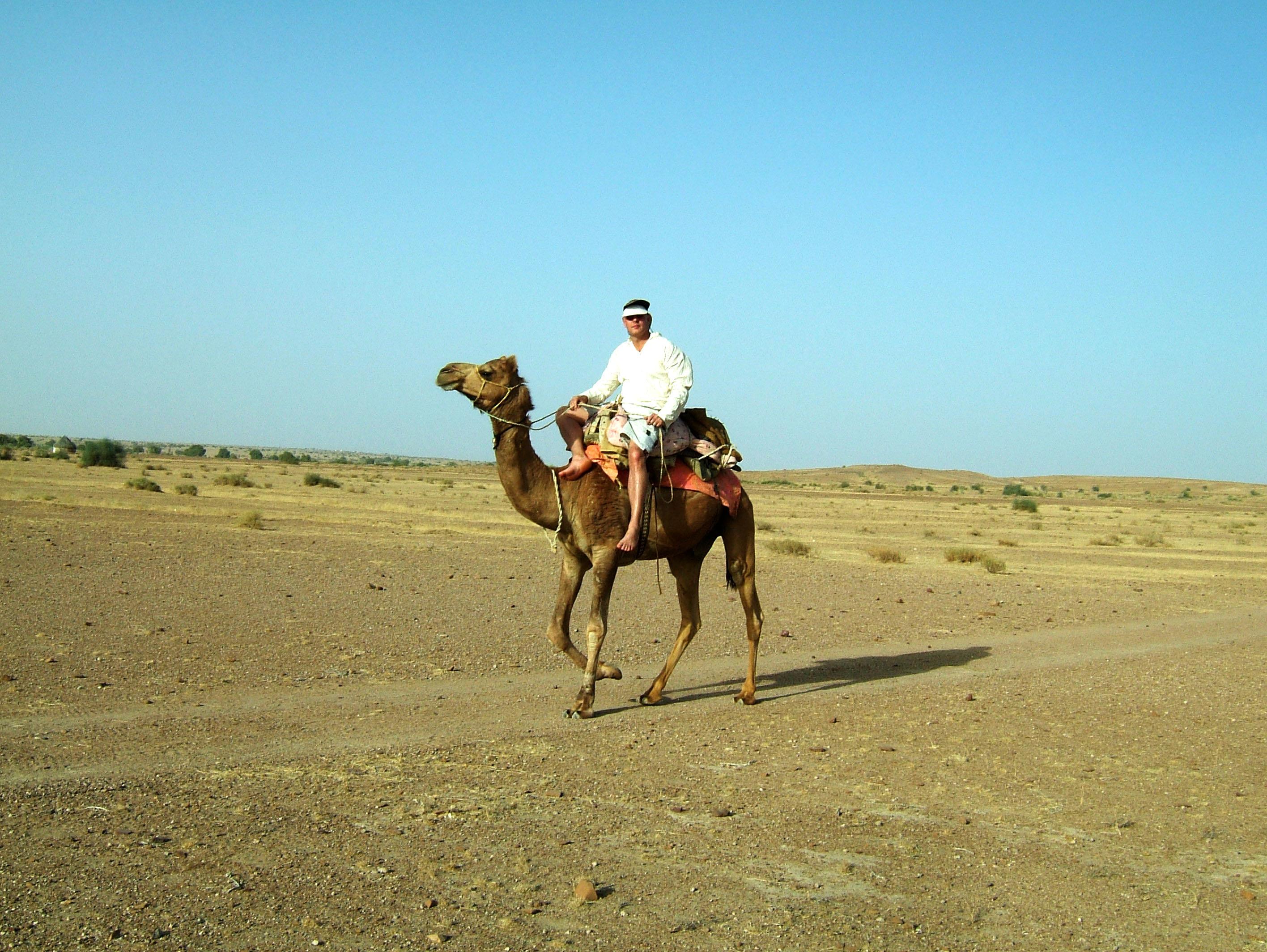 Camel Safari India Rajasthan Jaisalmer 14