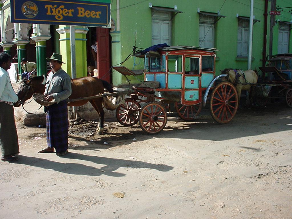 Horse and Cart Myanmar Pyin Oo Lwin 02