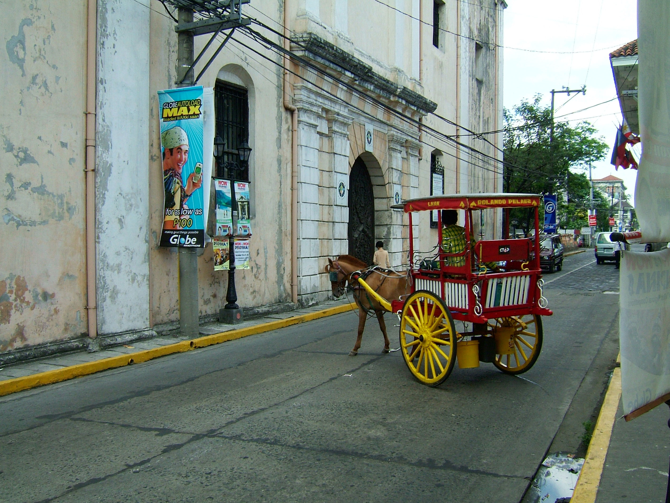 Horse and Cart Philippines Manila Fort 01