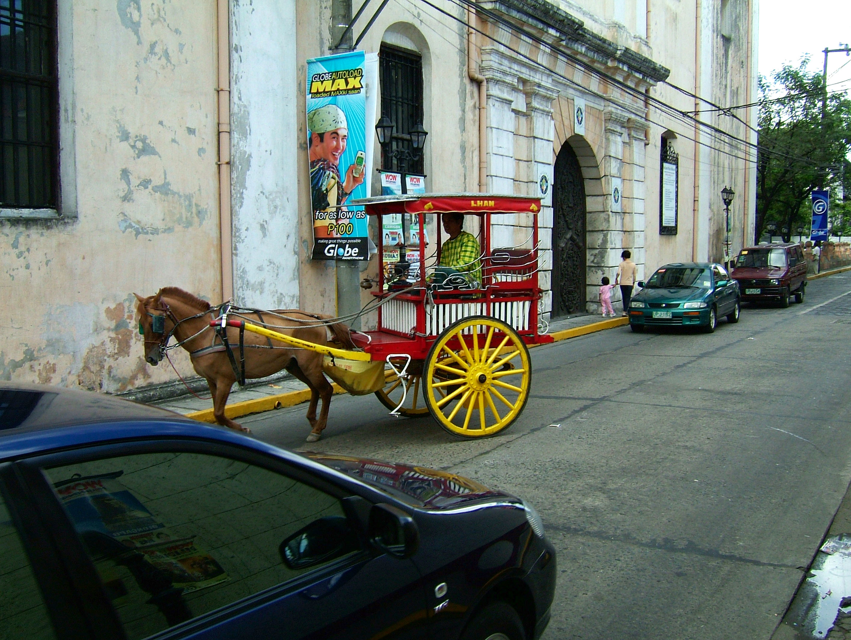 Horse and Cart Philippines Manila Fort 02