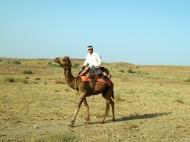 Asisbiz Camel Safari India Rajasthan Jaisalmer 02