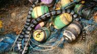 Asisbiz Textures Fishermans nets ocean polution 02