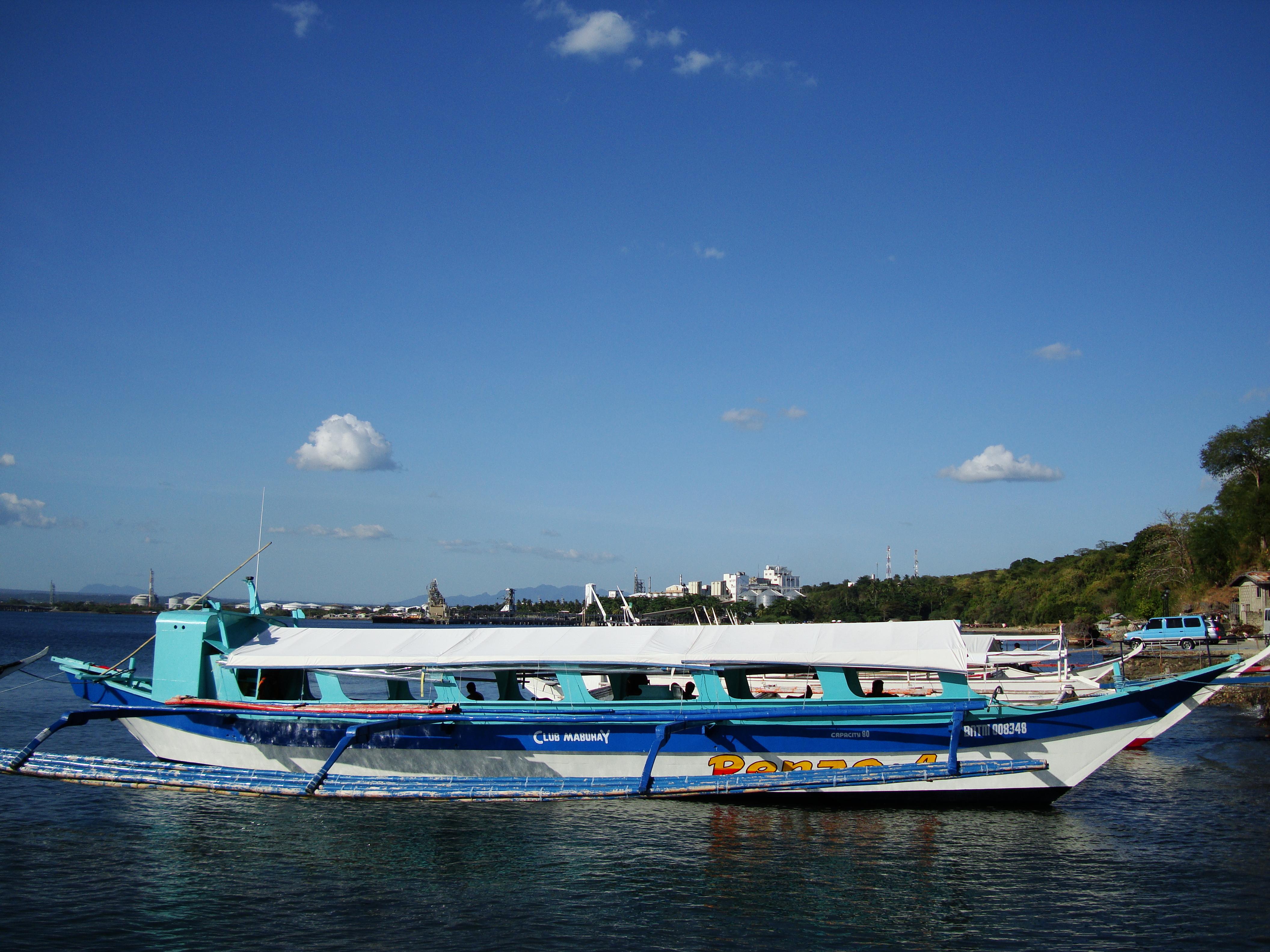 Philippine MB Banca Renzo 4 Batangas to Puerto Galera 02