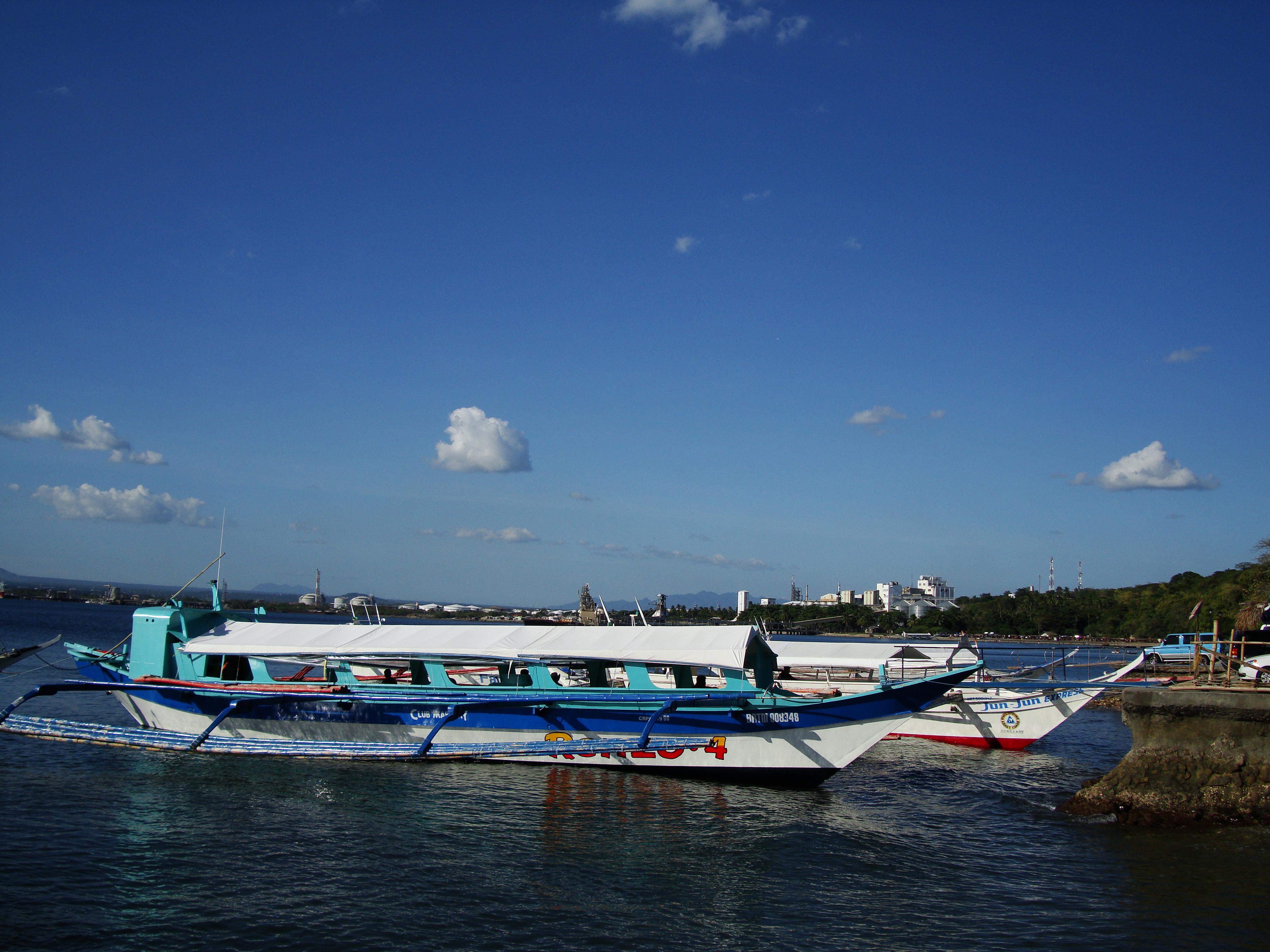 Philippine MB Banca Renzo 4 Batangas to Puerto Galera 03
