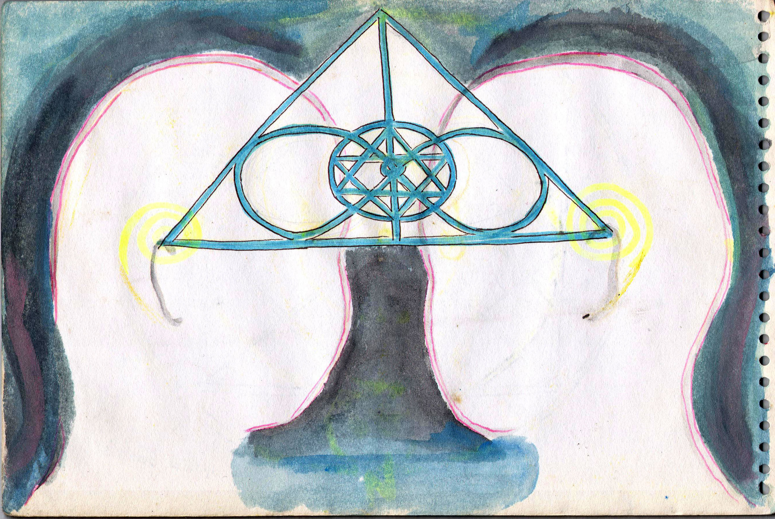 Sketches from the source by a Philippine shaman Bong Delatorre 12