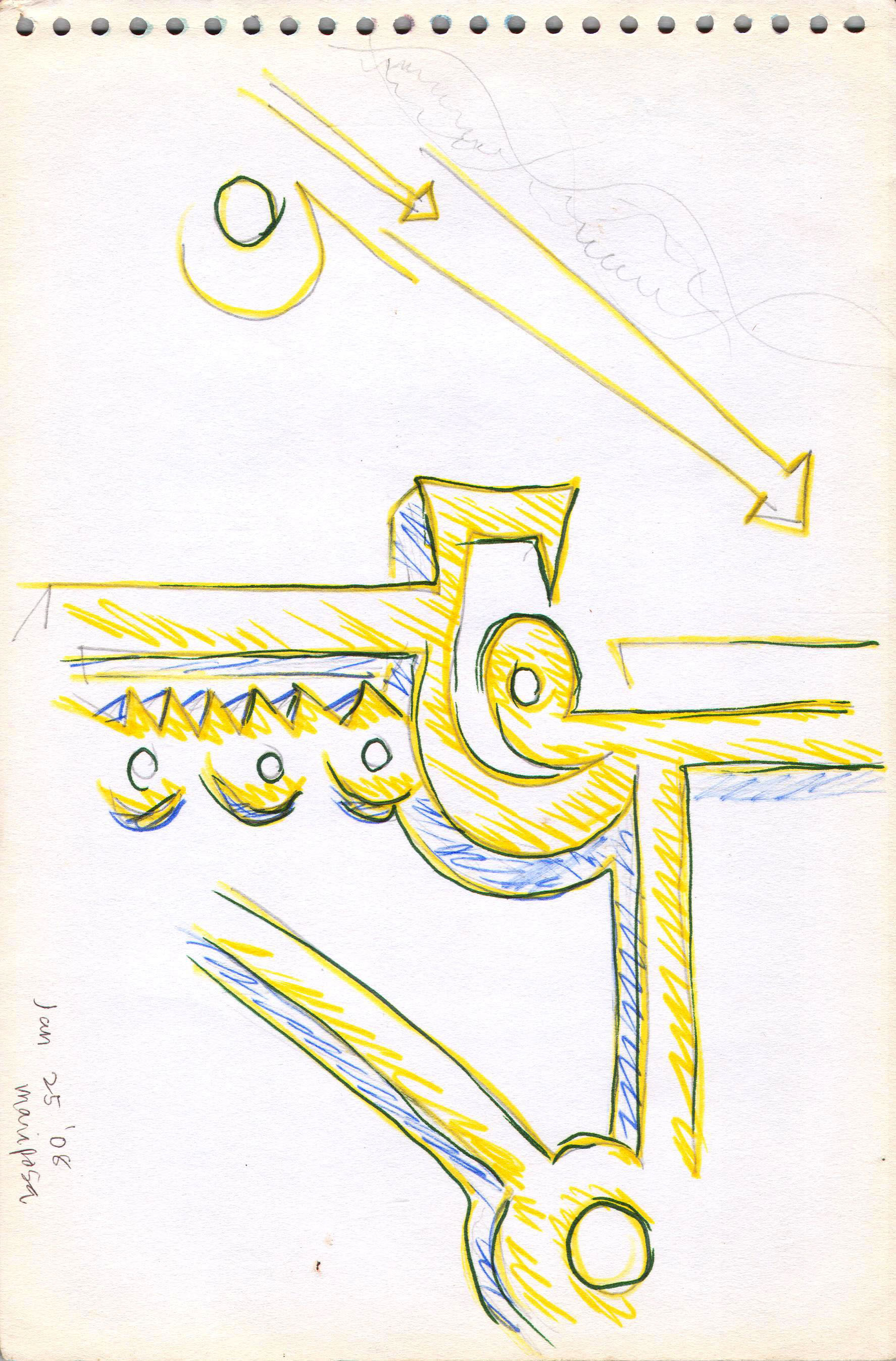 Sketches from the source by a Philippine shaman Bong Delatorre 15
