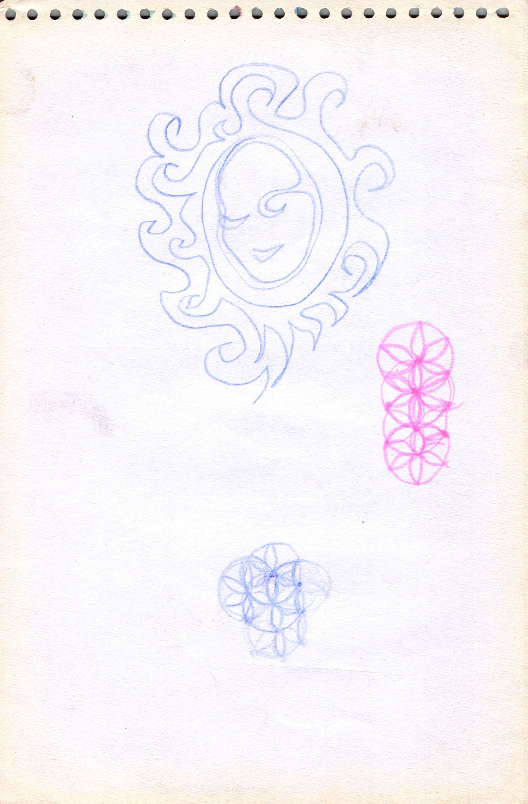 Sketches from the source by a Philippine shaman Bong Delatorre 18