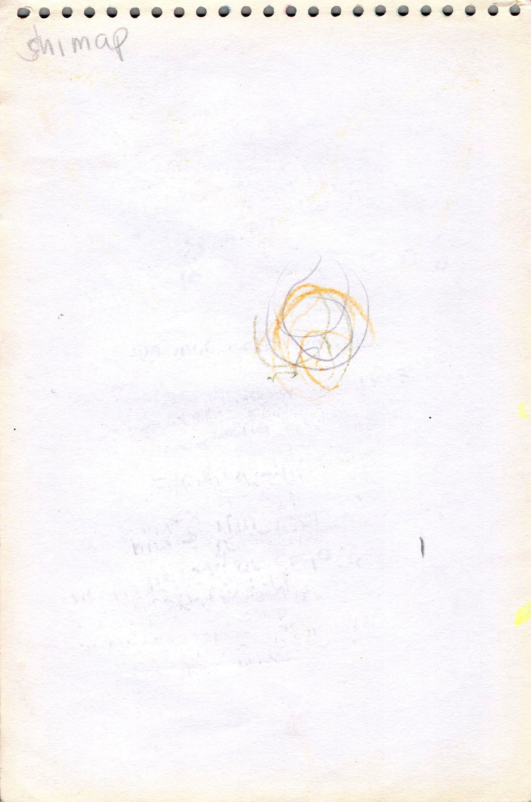 Sketches from the source by a Philippine shaman Bong Delatorre 19