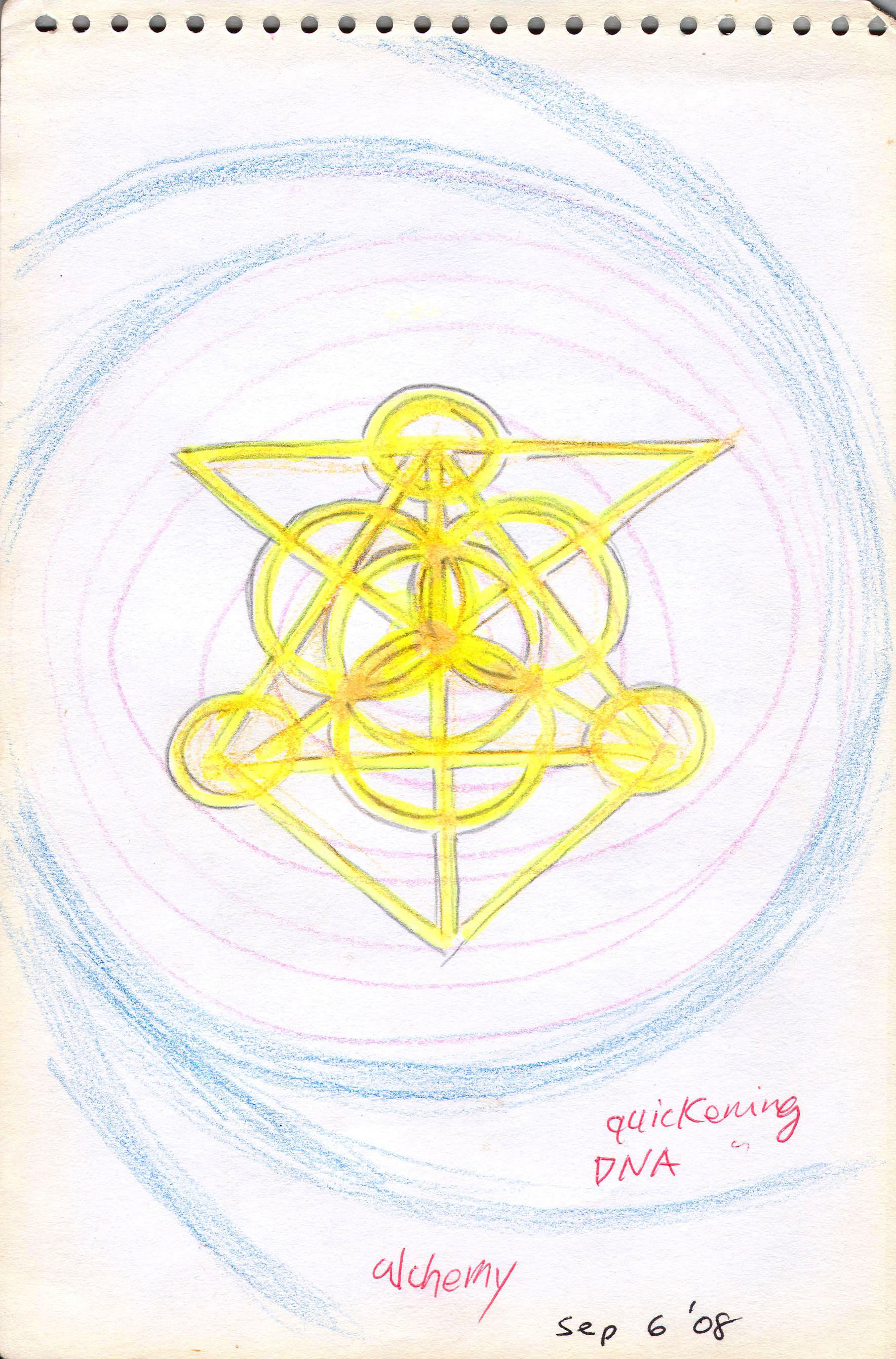 Sketches from the source by a Philippine shaman Bong Delatorre 23