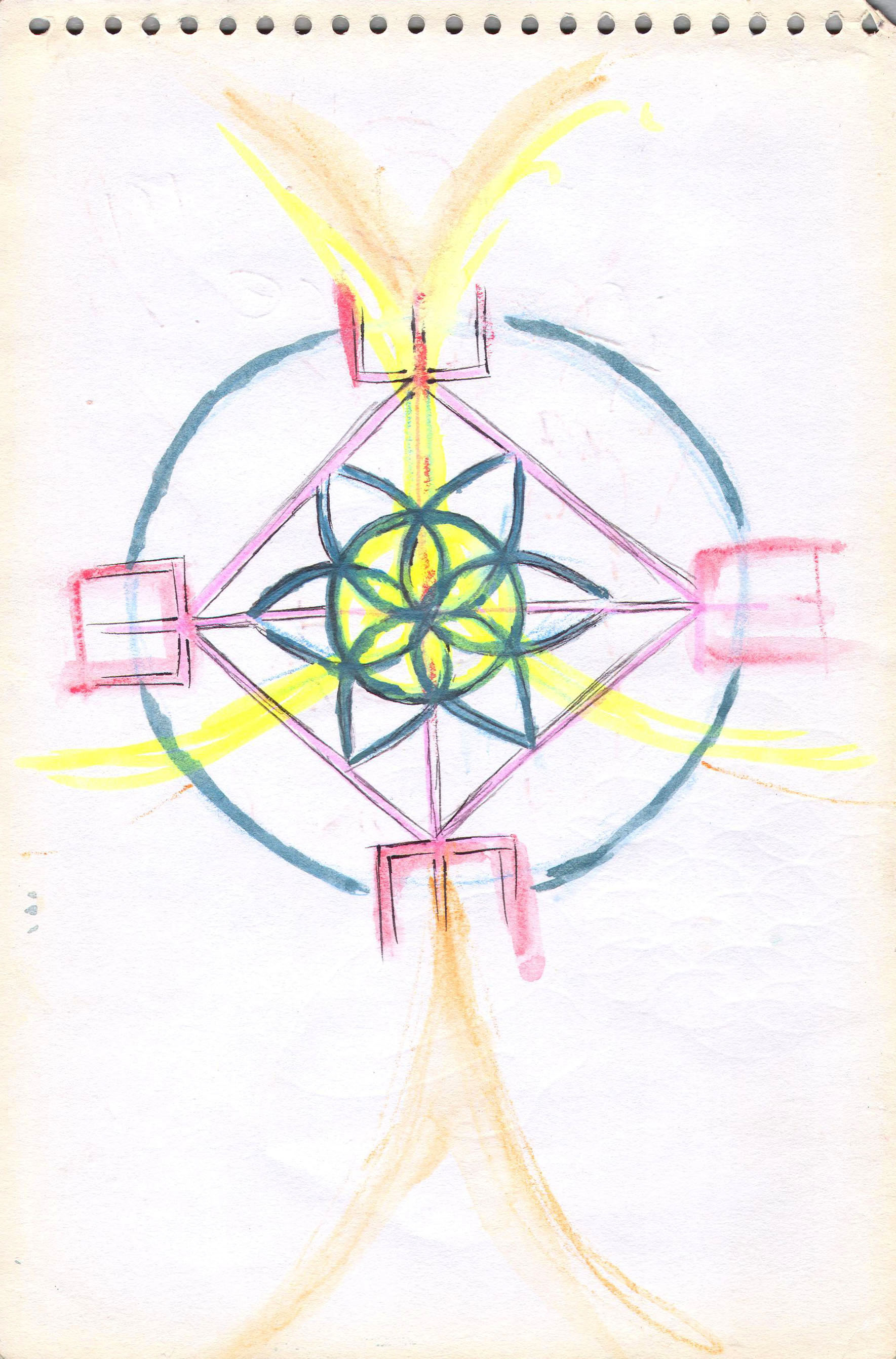 Sketches from the source by a Philippine shaman Bong Delatorre 25