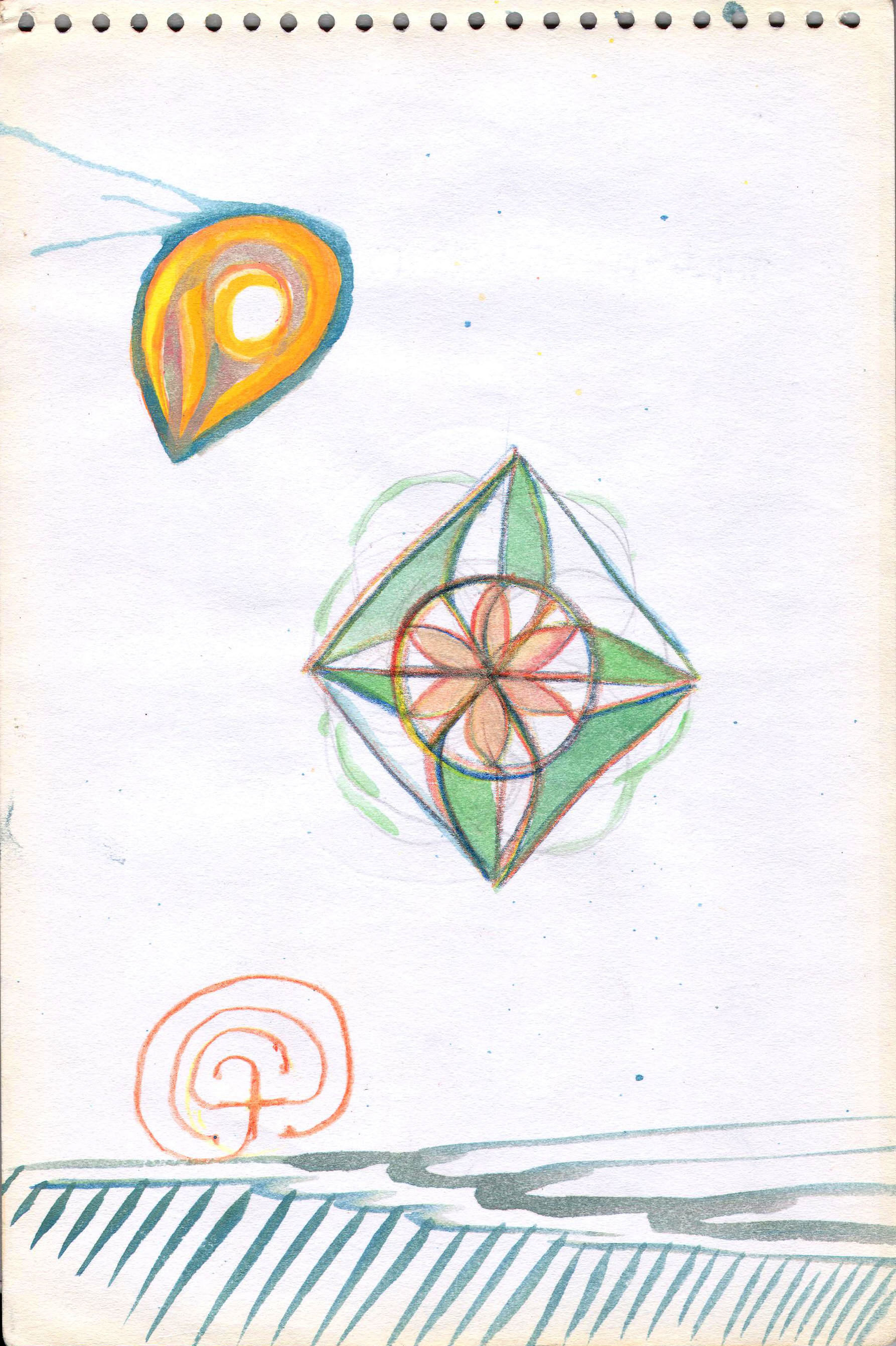 Sketches from the source by a Philippine shaman Bong Delatorre 28