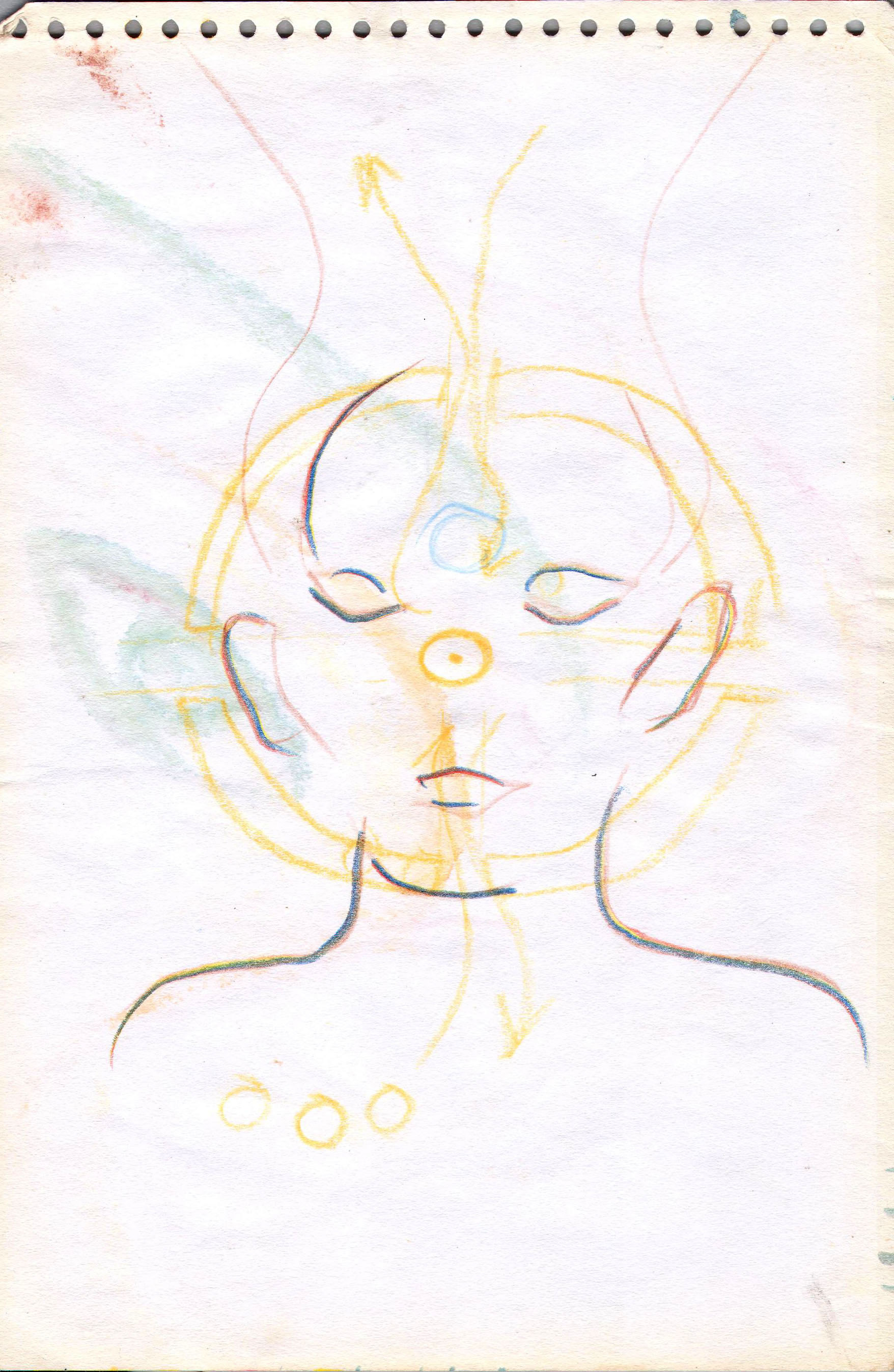 Sketches from the source by a Philippine shaman Bong Delatorre 30
